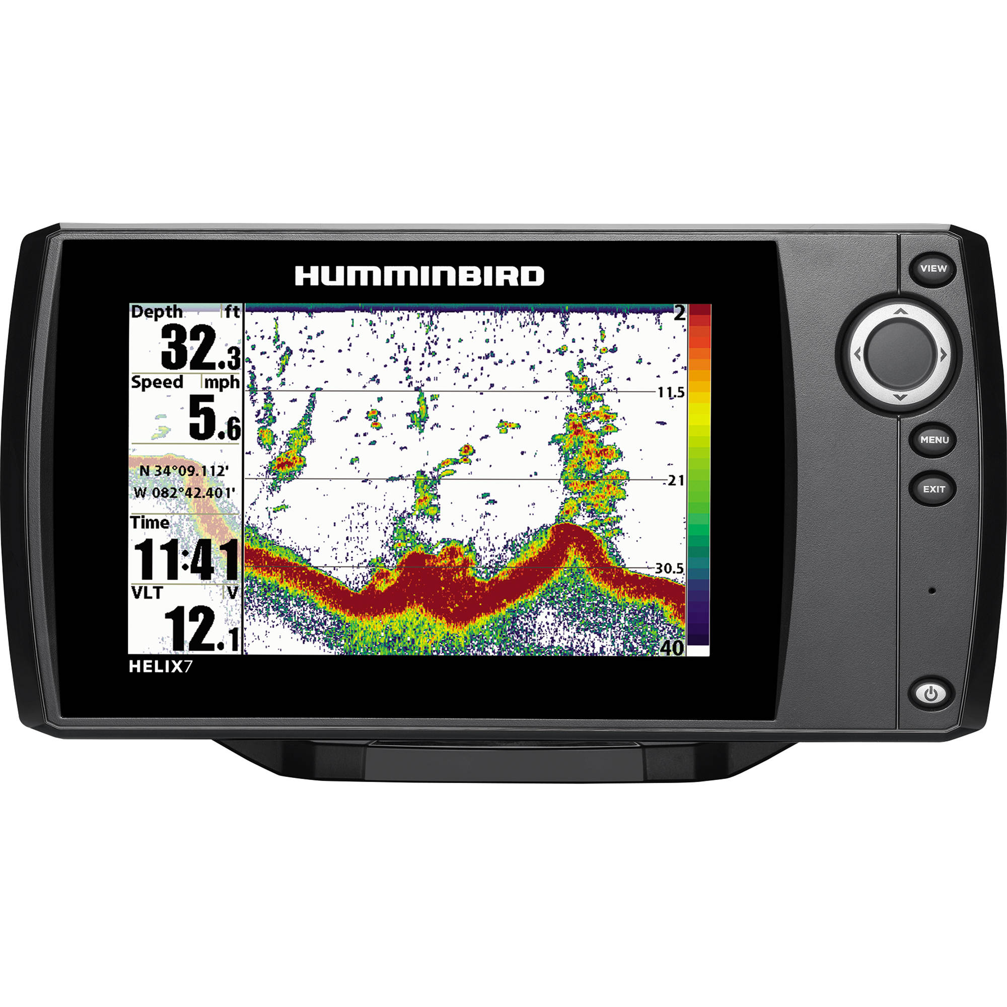 humminbird helix 7 fishfinder 409790-1 b&h photo video, Fish Finder