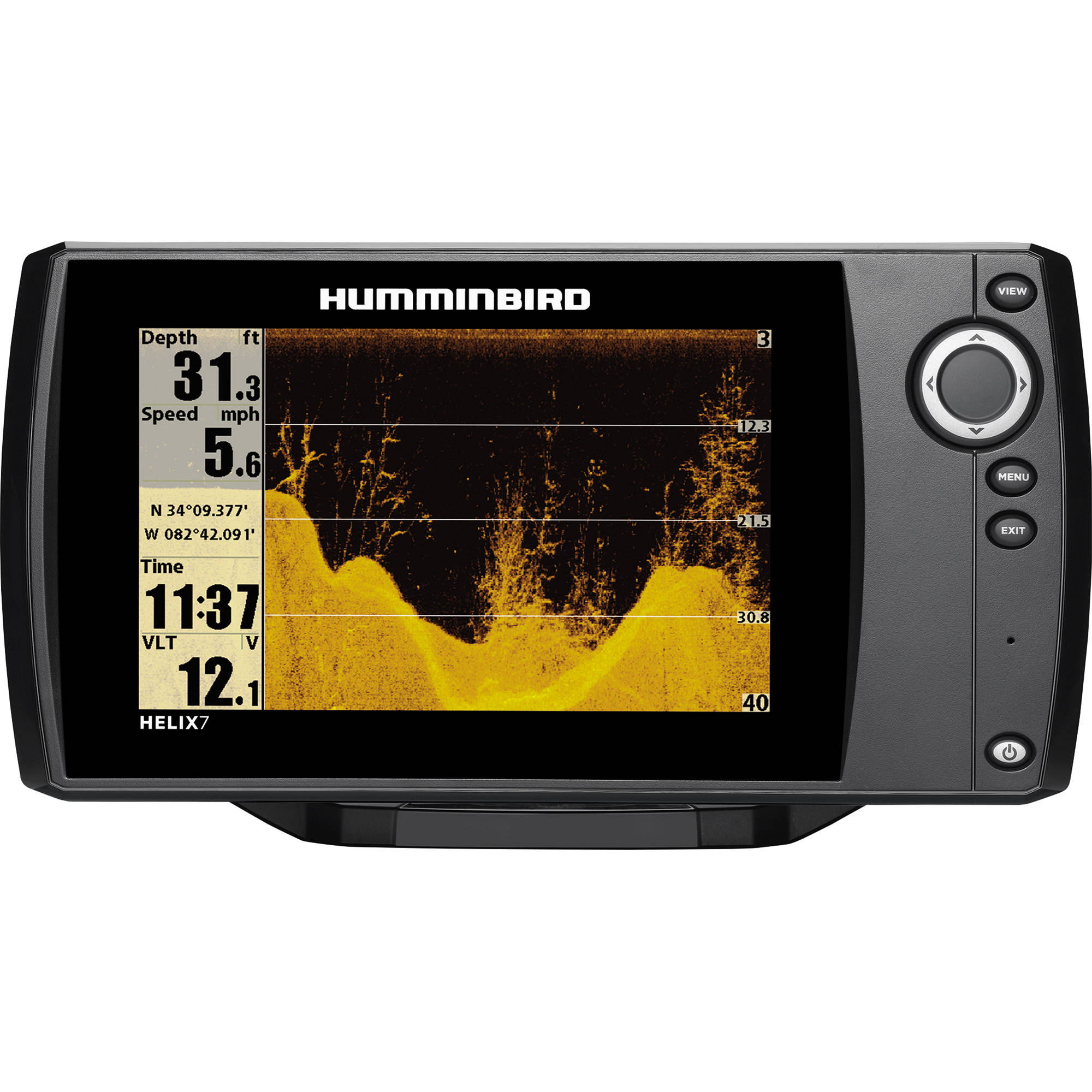 humminbird helix 7 di fishfinder 409800-1 b&h photo video, Fish Finder