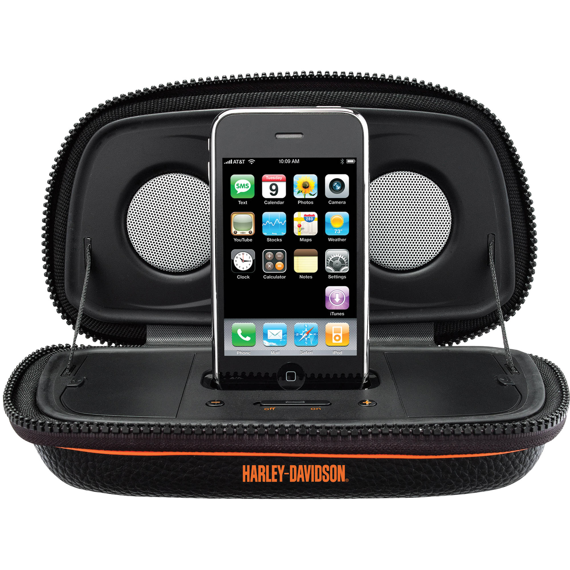 portable speakers for iphone ihome hdp20 portable stereo speaker system for iphone or hdp29 2814