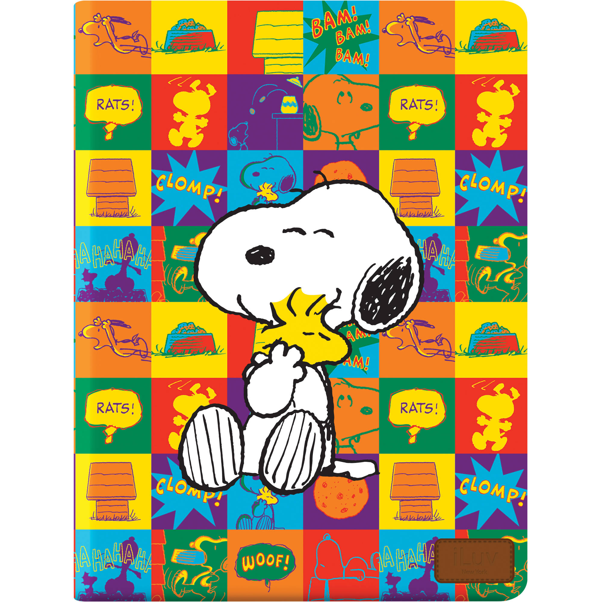 Iluv Snoopy Folio For The Ipad Mini Red Ica8j389red B H Photo
