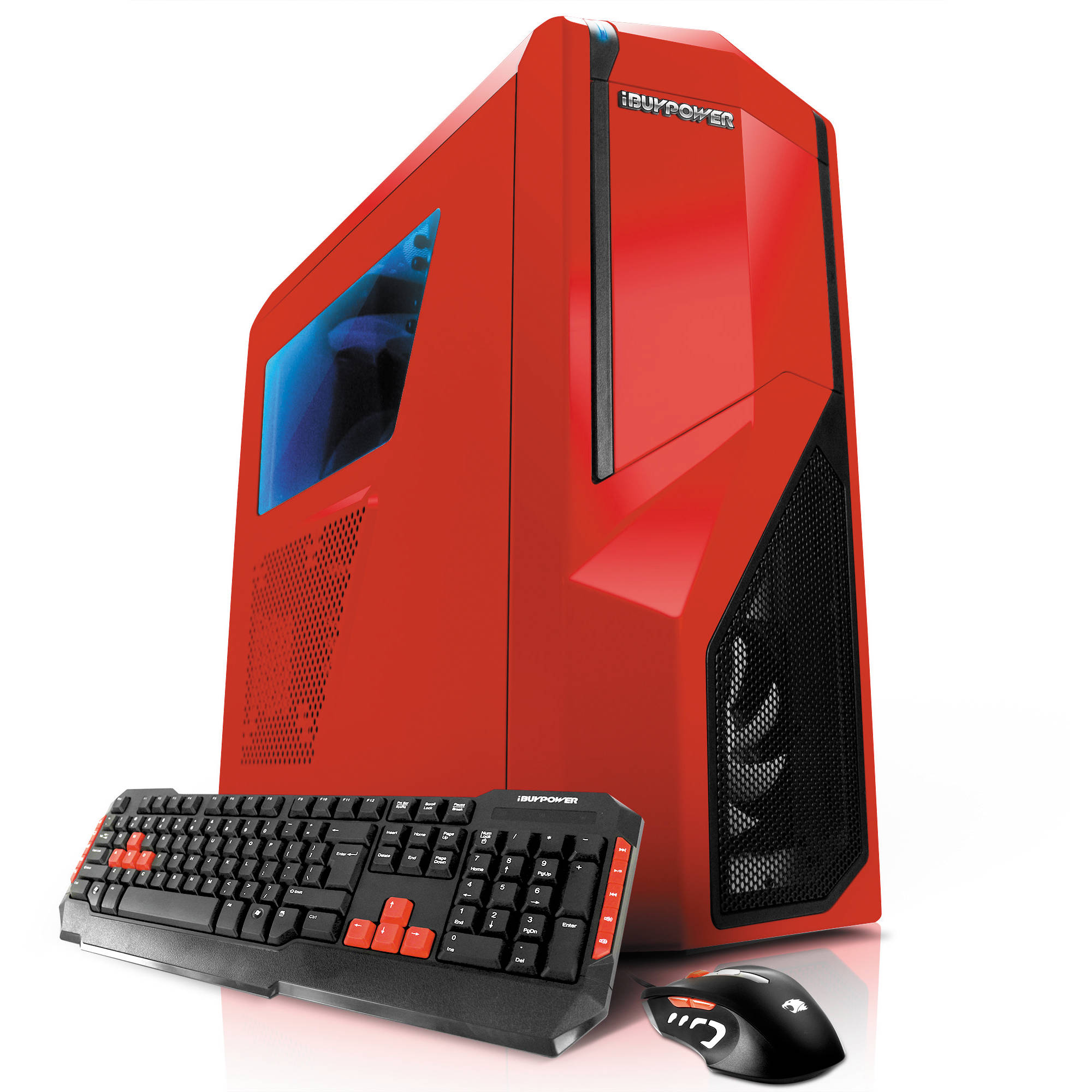 Ibuypower Na014 Desktop Computer Red Na014 B Amp H Photo Video