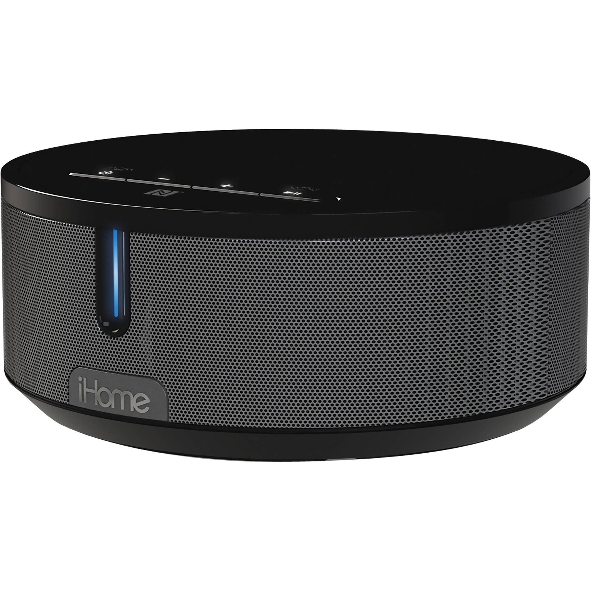 IHome IBN26 Bluetooth Stereo Speaker System (Black) IBN26GC B&H
