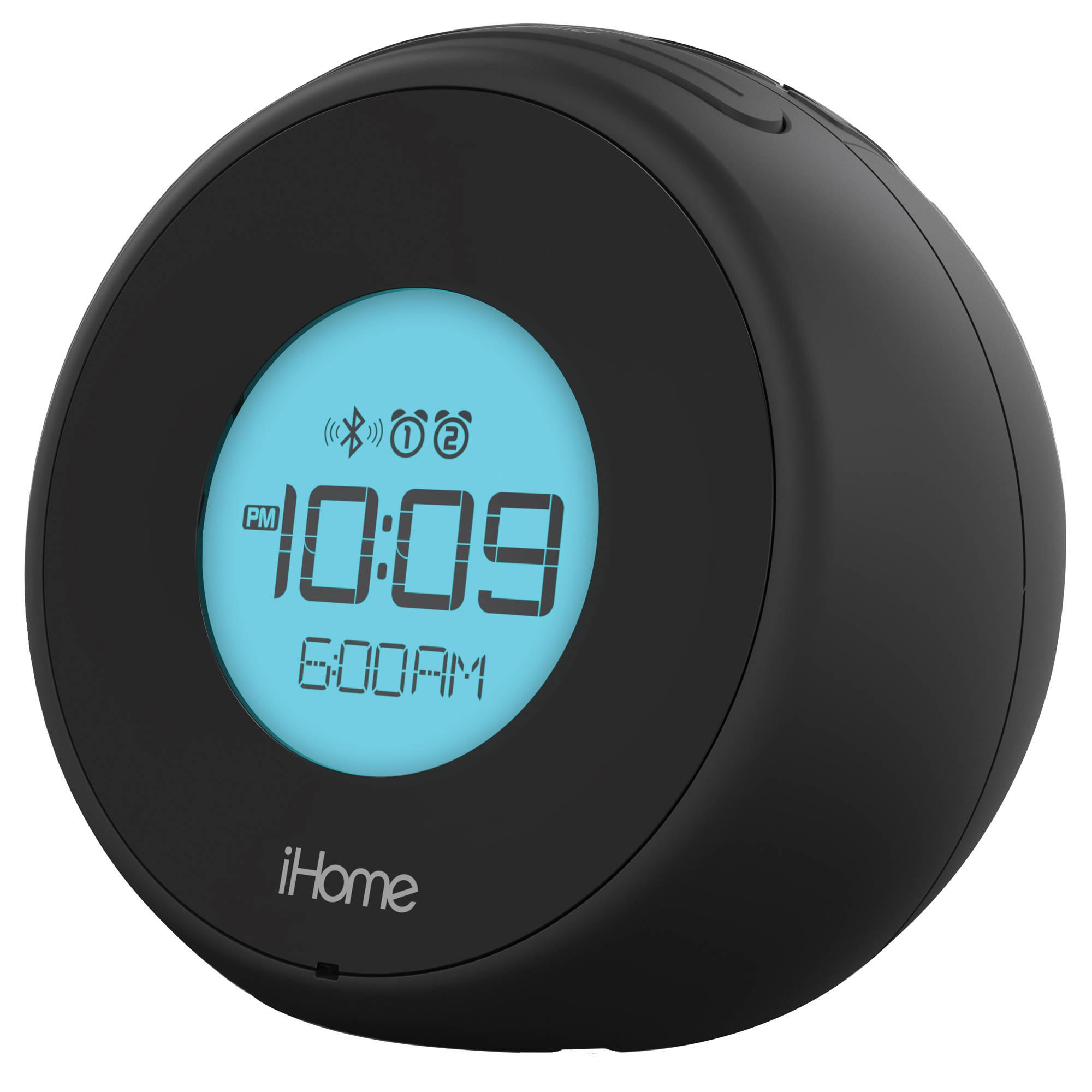 iHome iBT18 Bluetooth Alarm Clock IBT18BC B&H Photo Video