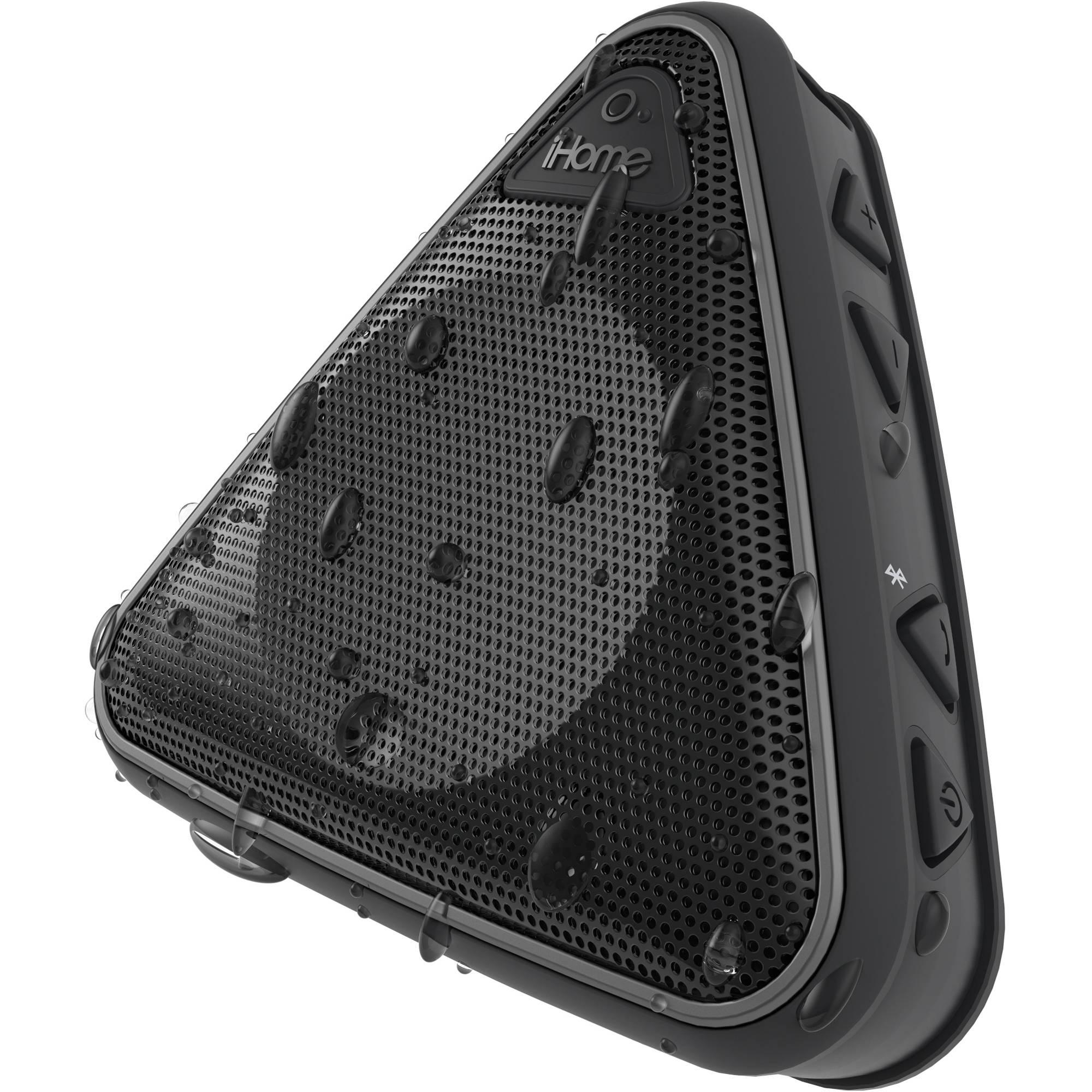 IHome IBT3 Splashproof Wireless Bluetooth Speaker IBT3BC B&H