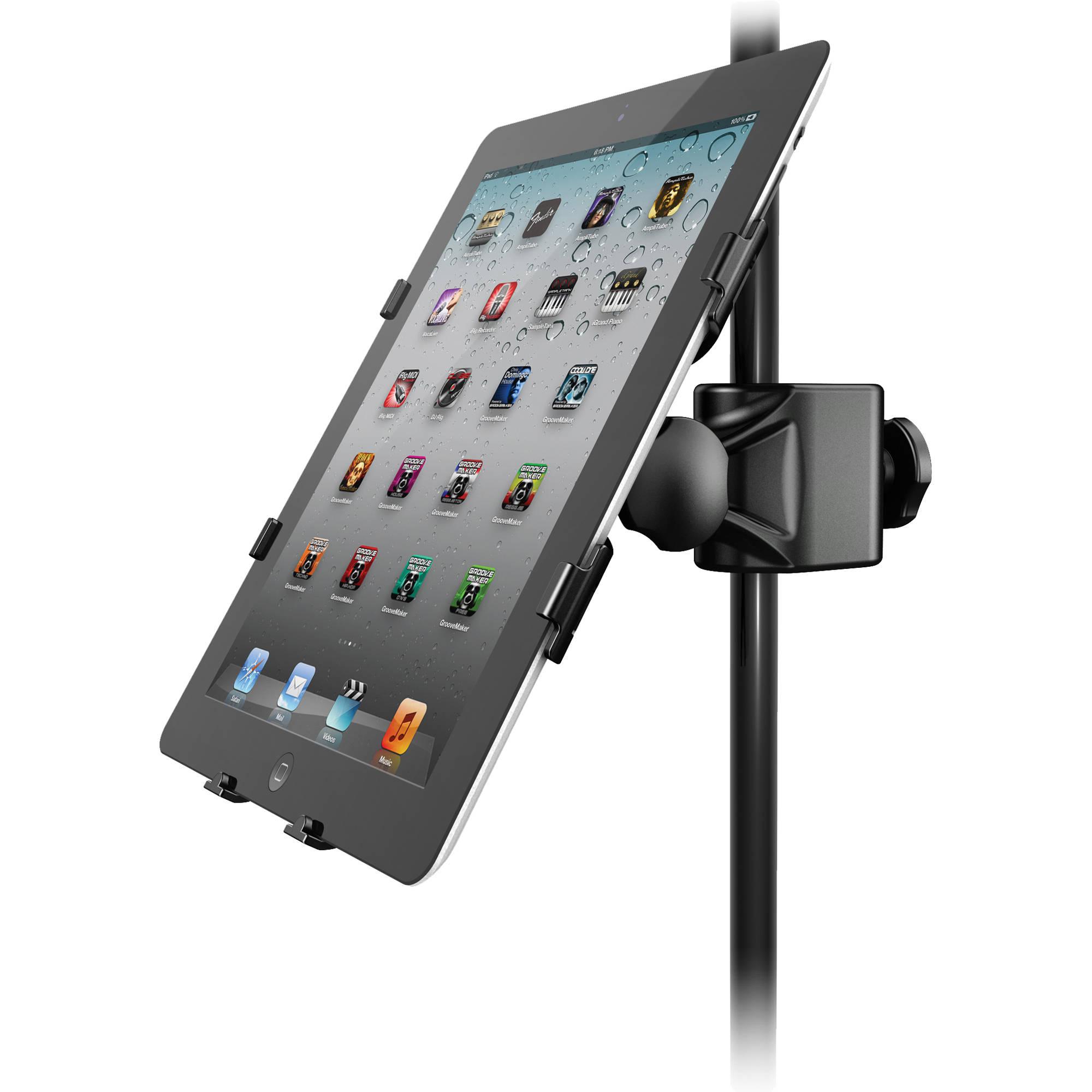 ik multimedia iklip 2 mic stand adapter ip iklip2 ipd in b h. Black Bedroom Furniture Sets. Home Design Ideas