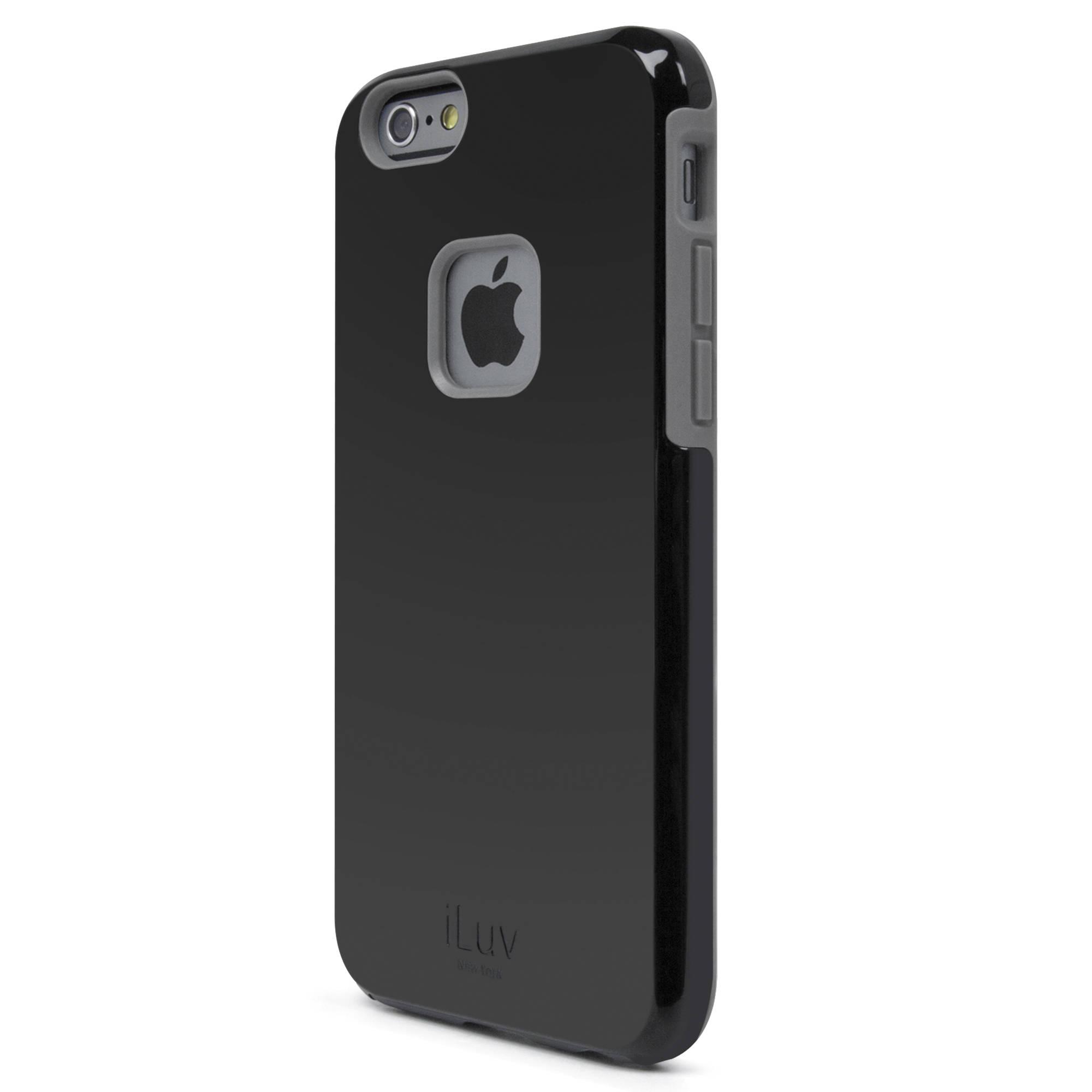 iluv regatta case for iphone 6 6s black ai6regabk b h photo. Black Bedroom Furniture Sets. Home Design Ideas