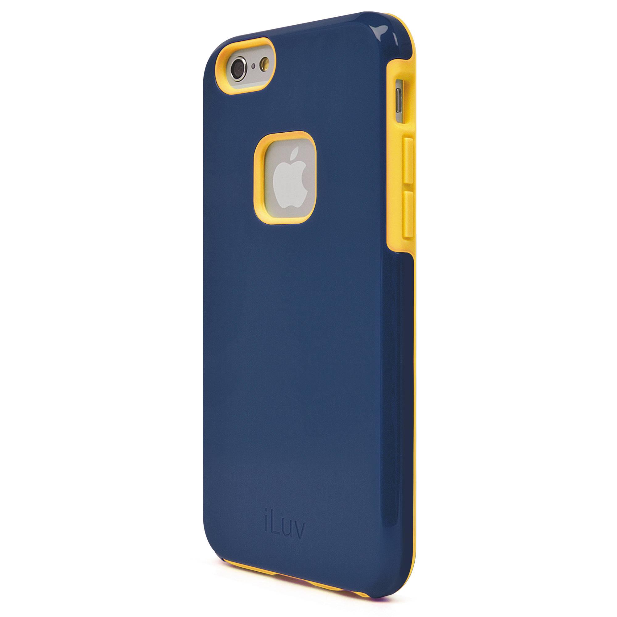 iluv regatta case for iphone 6 6s blue ai6regabl b h photo. Black Bedroom Furniture Sets. Home Design Ideas