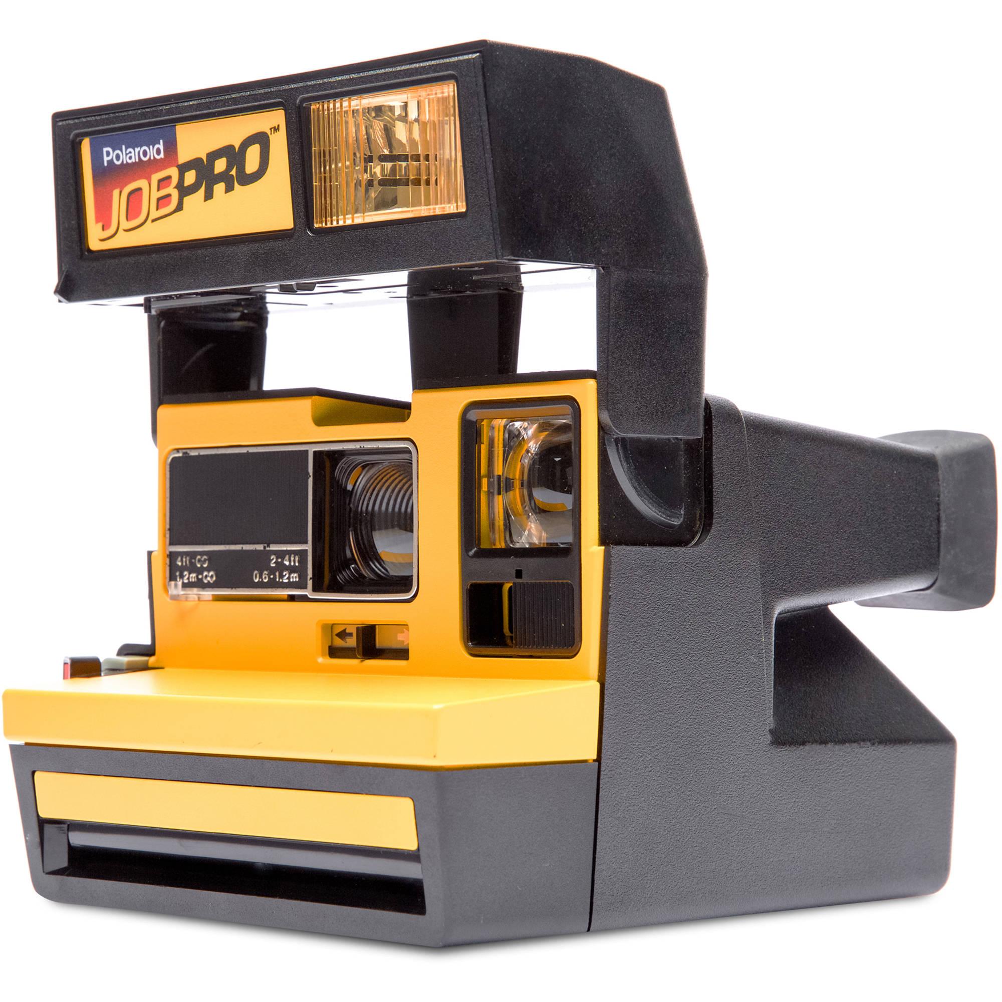 impossible polaroid 600 job pro instant film camera 1288 b h rh bhphotovideo com Polaroid OneStep SX-70 Batteries for Polaroid Job Pro 2