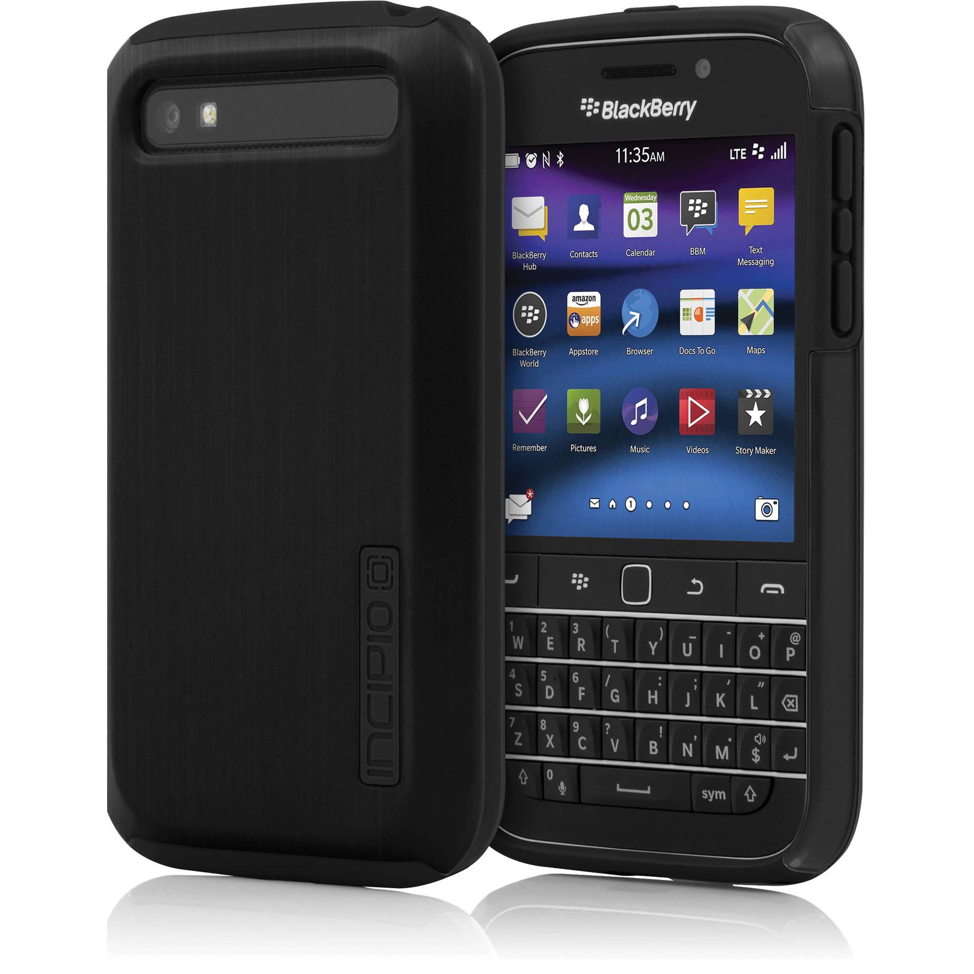 Incipio Dualpro Shine Case For Blackberry Bb 013 Blk Bh Photo Classic Black