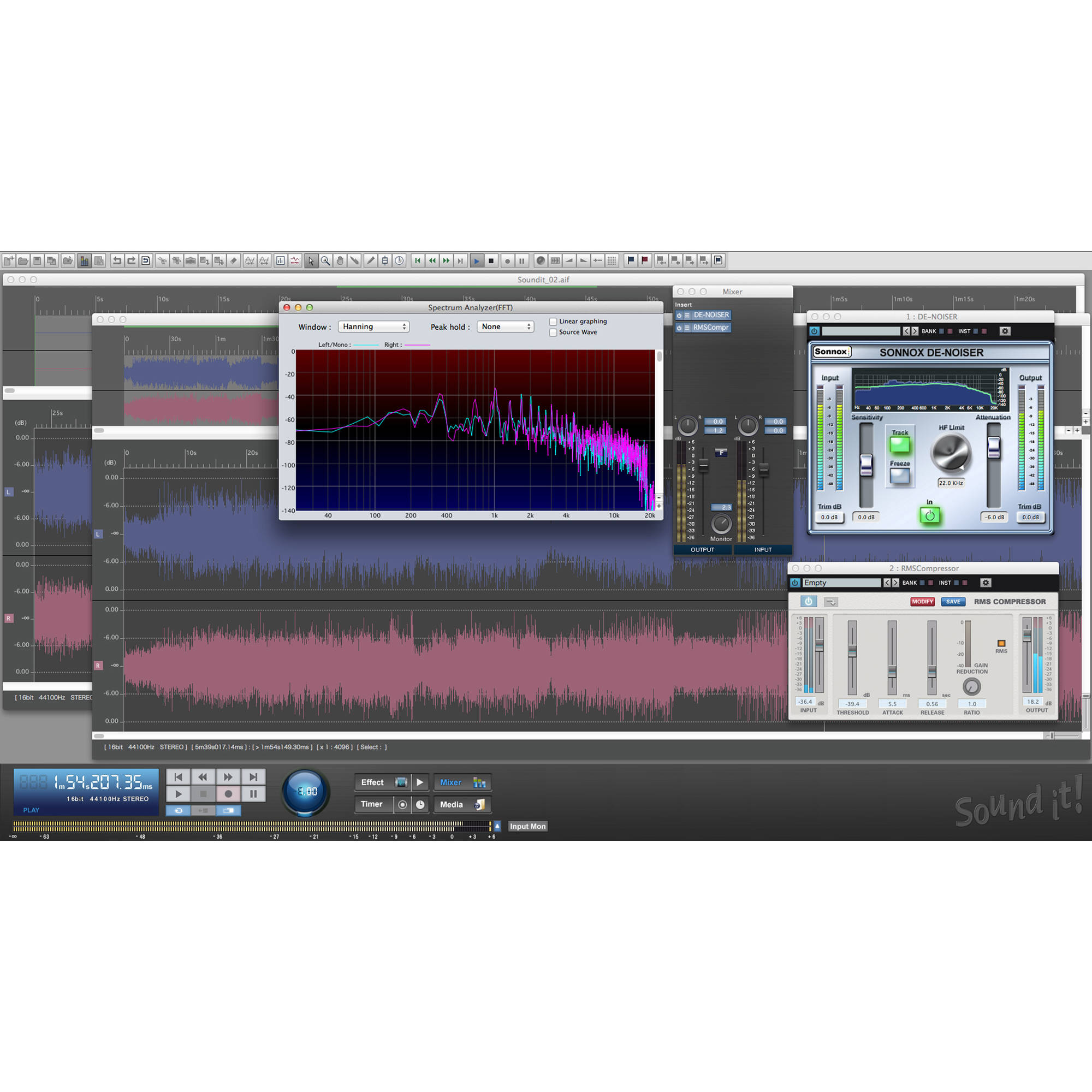 Free audio editor download.