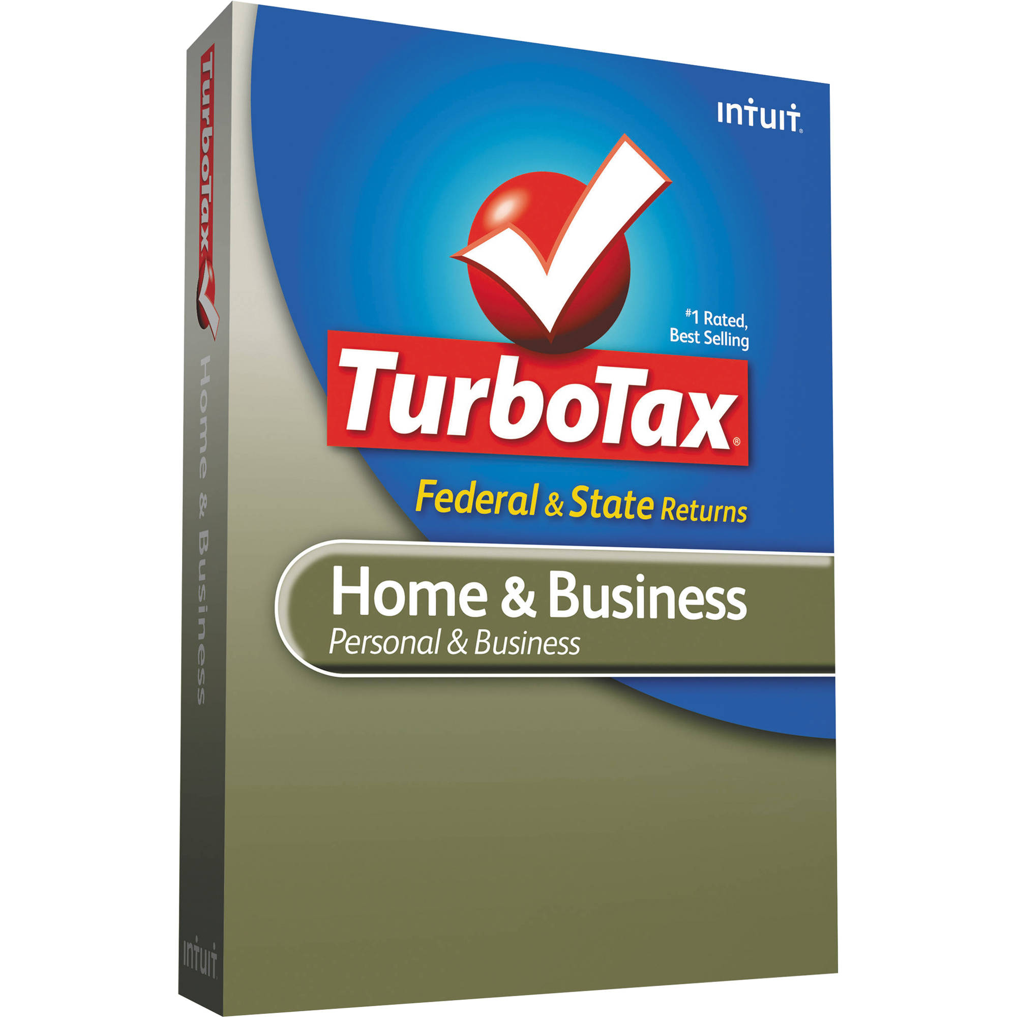 Intuit TurboTax Home and Business Federal + E-File + 0420487 B&H