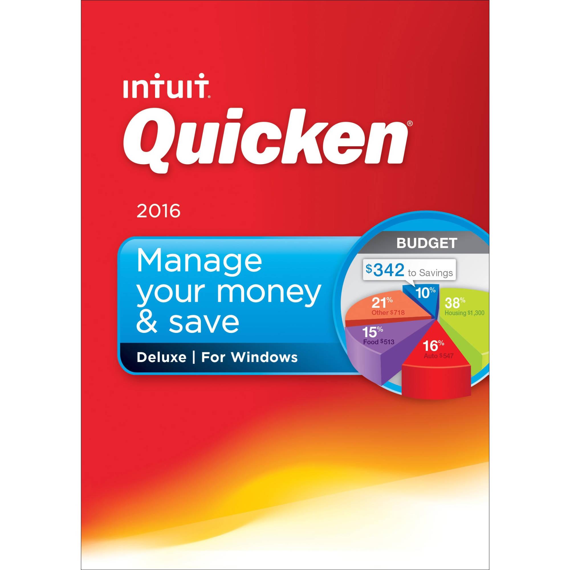 Quicken deluxe 2017 on sale