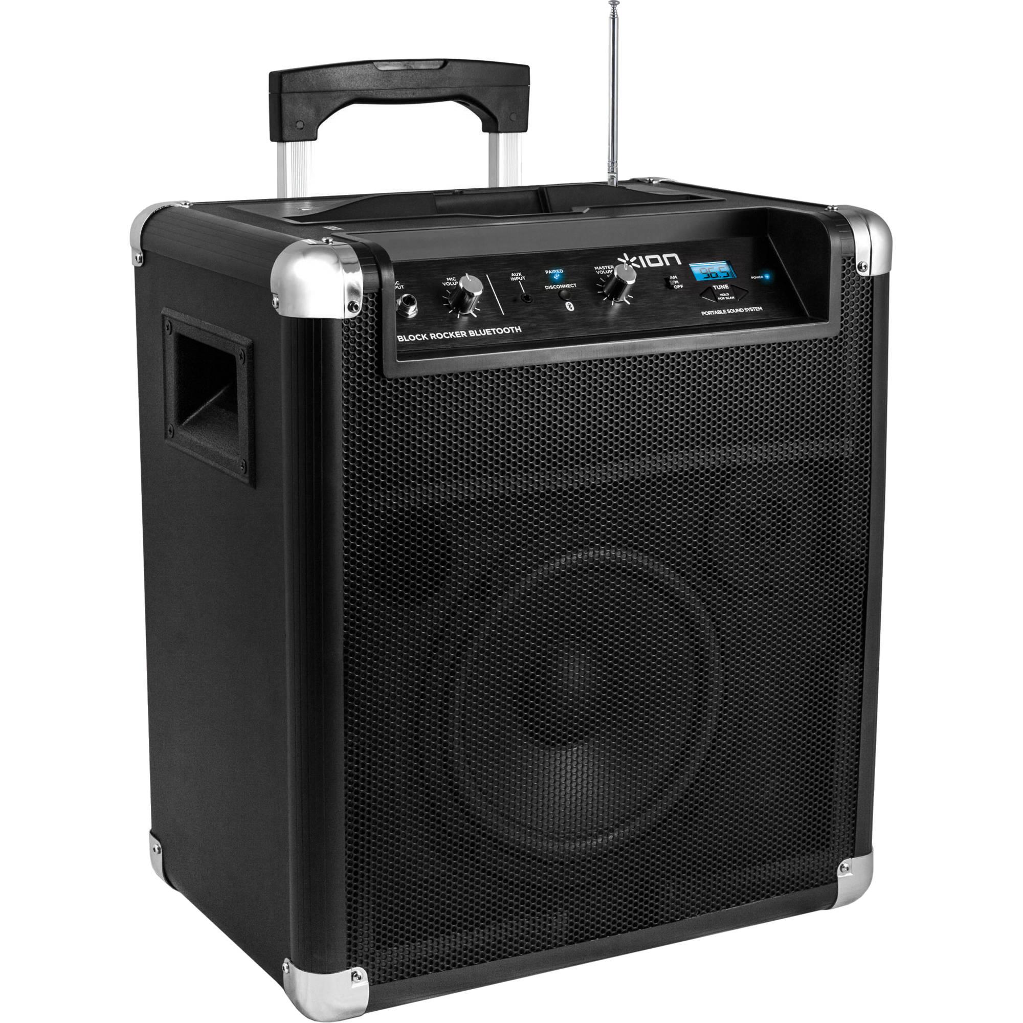 ION Audio iPA8D Block Rocker Portable Bluetooth Wireless Speaker (8)