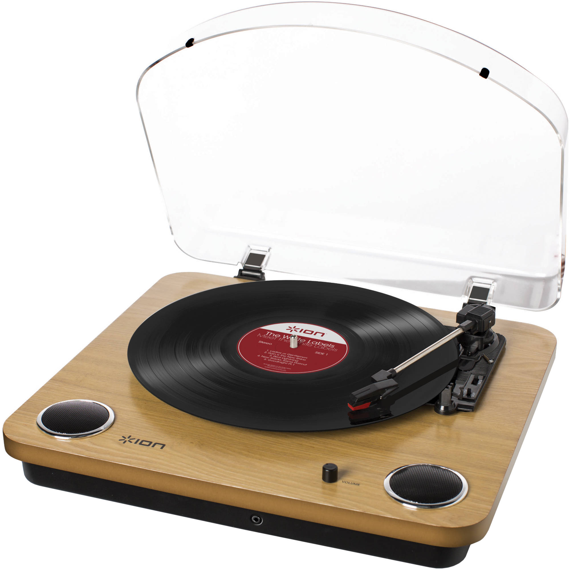ion audio max lp conversion turntable with stereo max lp b h. Black Bedroom Furniture Sets. Home Design Ideas