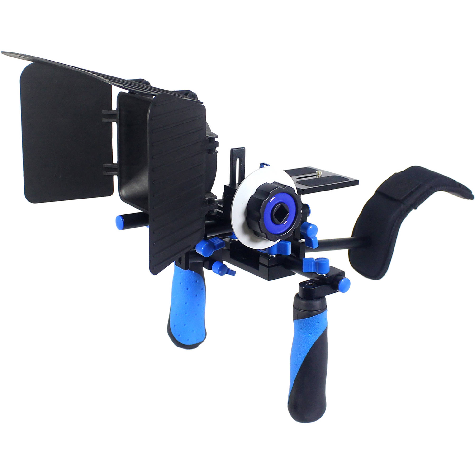 Camera Camera Dslr Rig dslr video supports rigs page 2 bh photo ivation rig system for or camera blue