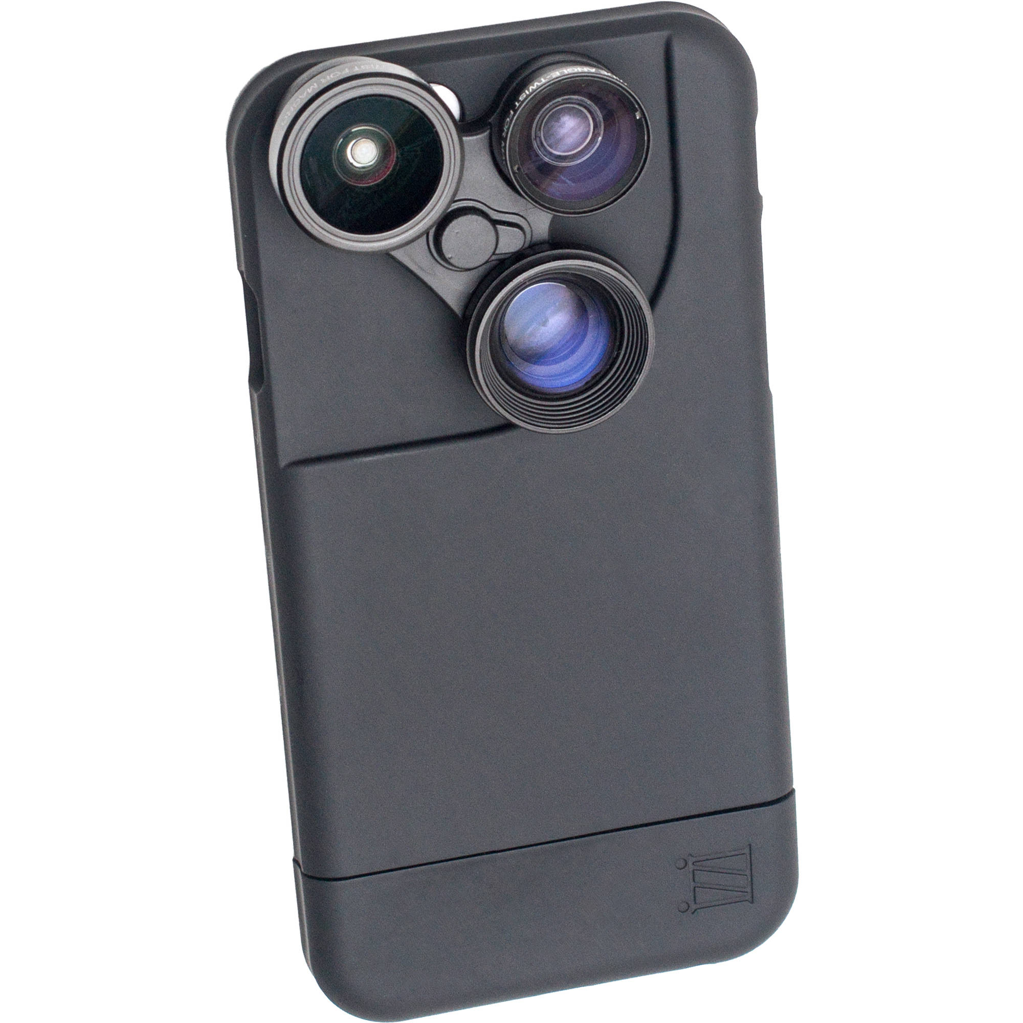 af4ac064159 iZZi Gadgets iZZi Slim 6 5-in-1 Photo Lens Case for iPhone 6 6s (Black)