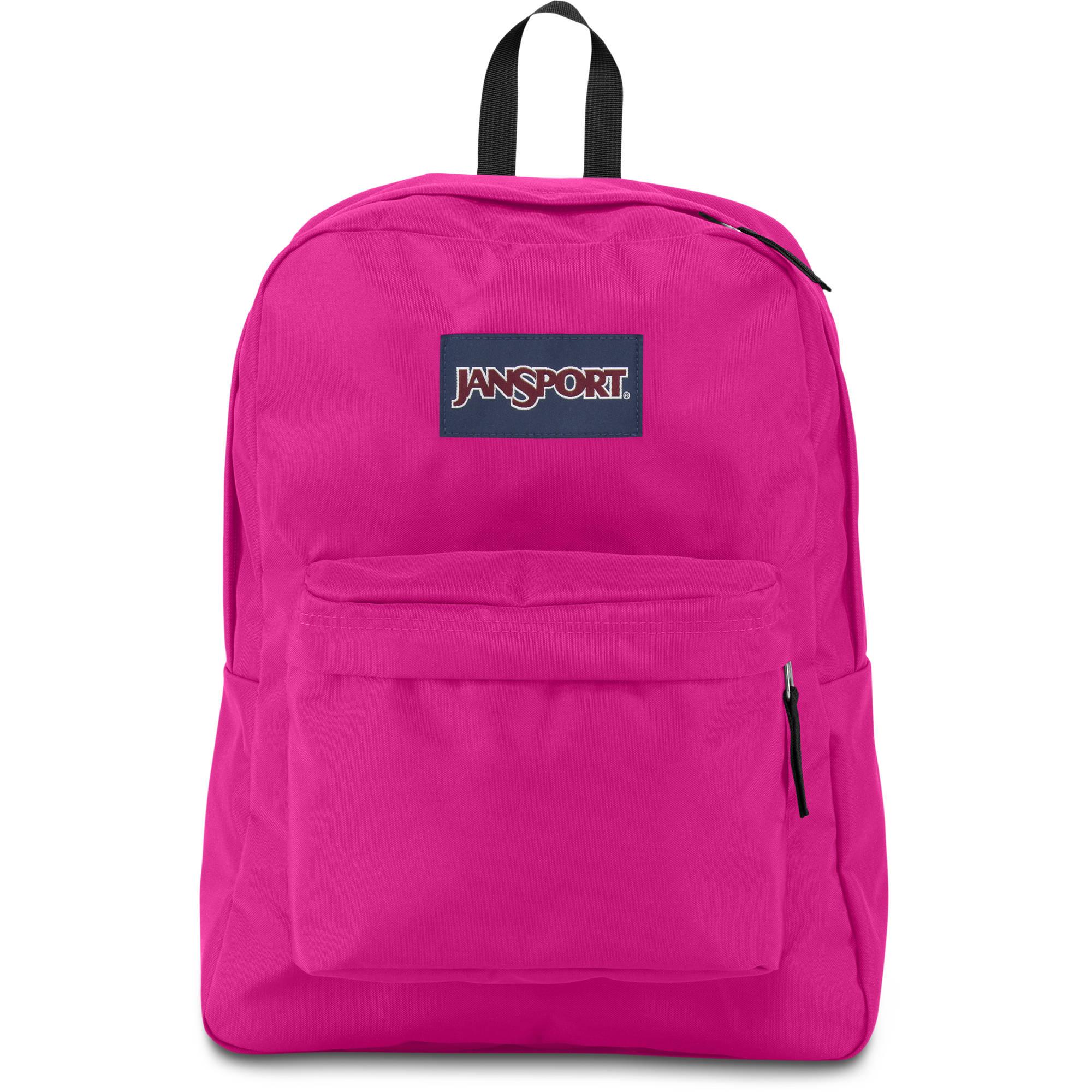 JanSport SuperBreak 25L Backpack (Cyber Pink) JS00T50101B B&H