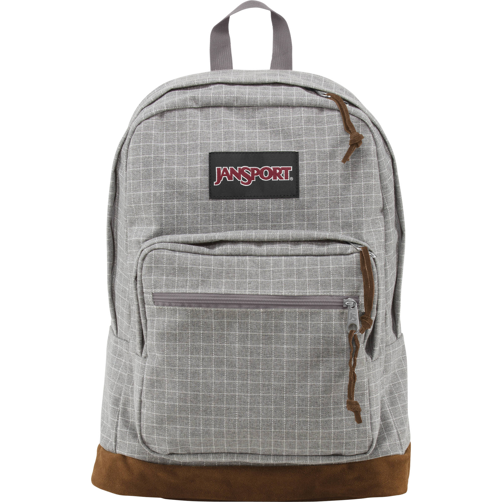6a1e90a010 JanSport Right Pack Expressions Backpack (Gray Squared) TZR604M