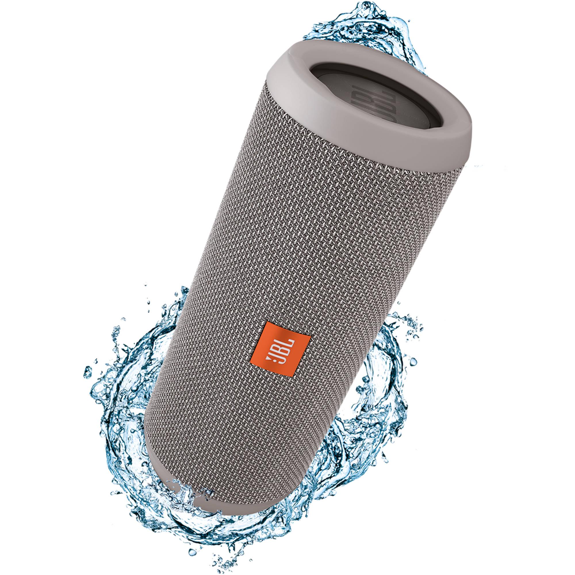 JBL Flip 3 Wireless Portable Stereo Speaker (Gray