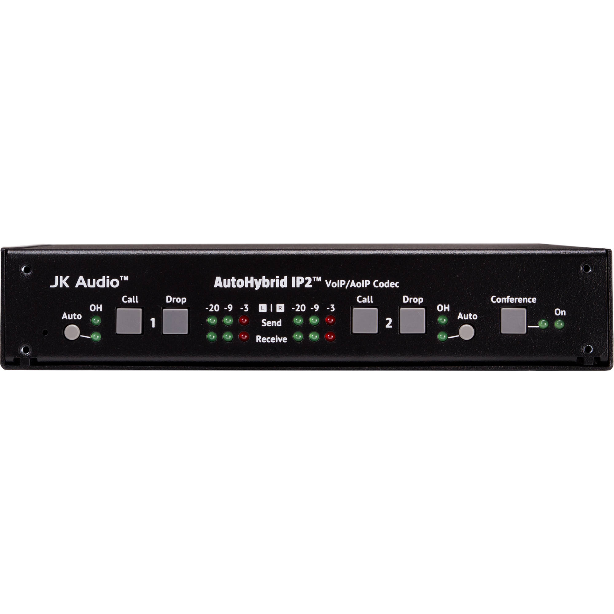 Jk Audio Autohybrid Ip2 Two Line Voip Hybrid Interface Autoip2 Telephone Phone Echo Cancellation Circuit Electrical