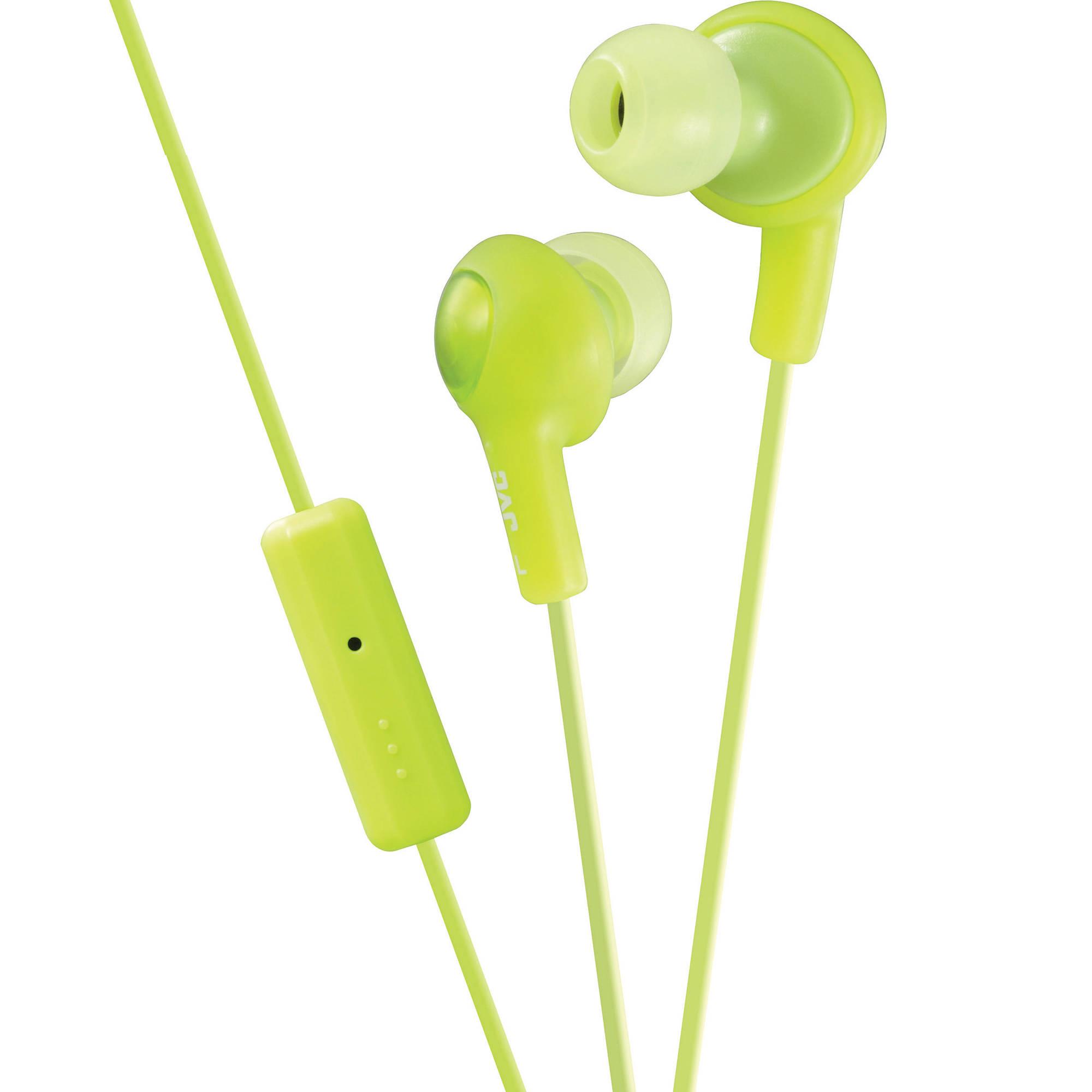 JVC HA-FR6 Gumy Plus Earbuds (Green) HA-FR6G B H Photo Video 70c4008be7