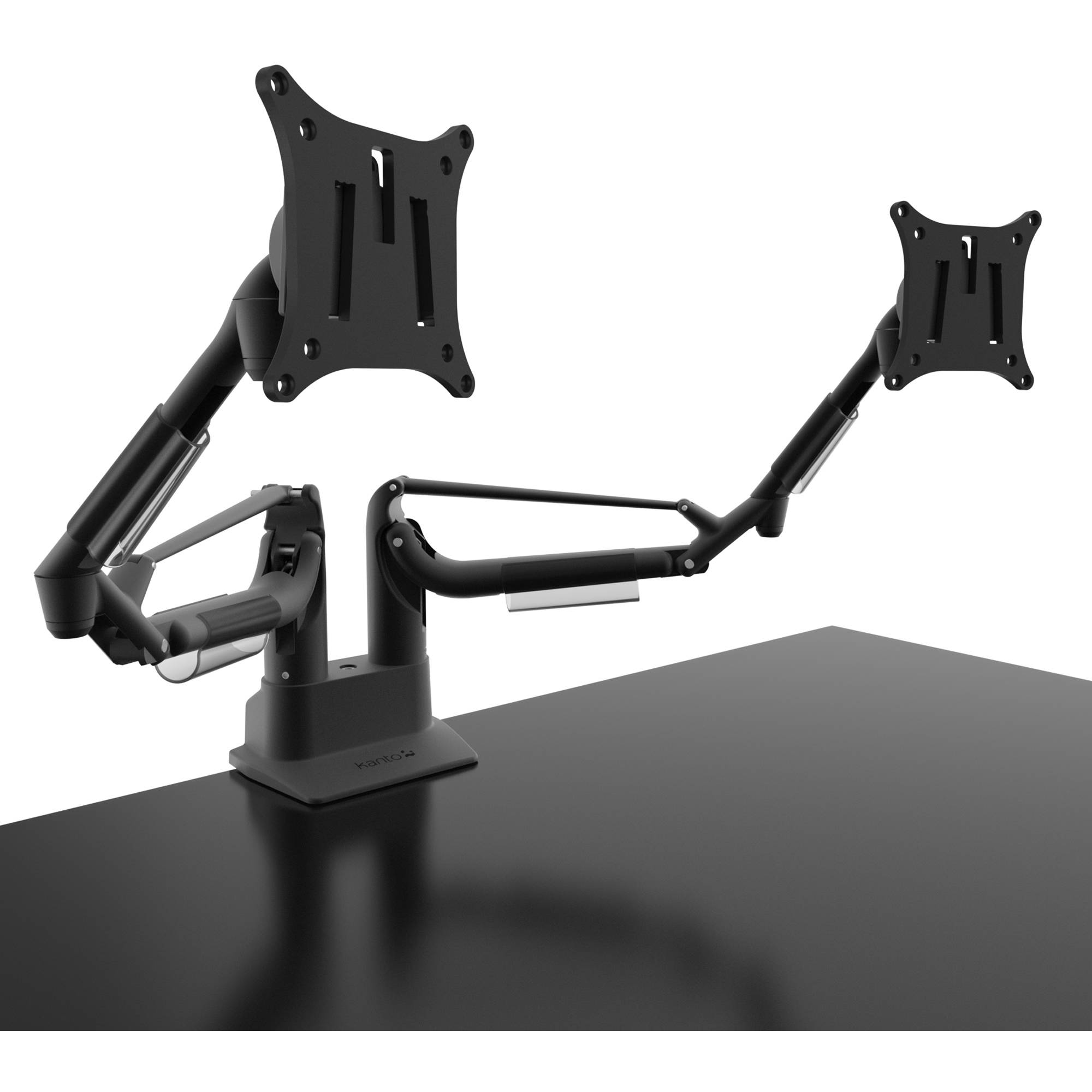 Kanto Living Dms2000 Dual Arm Desktop Monitor Mount Black