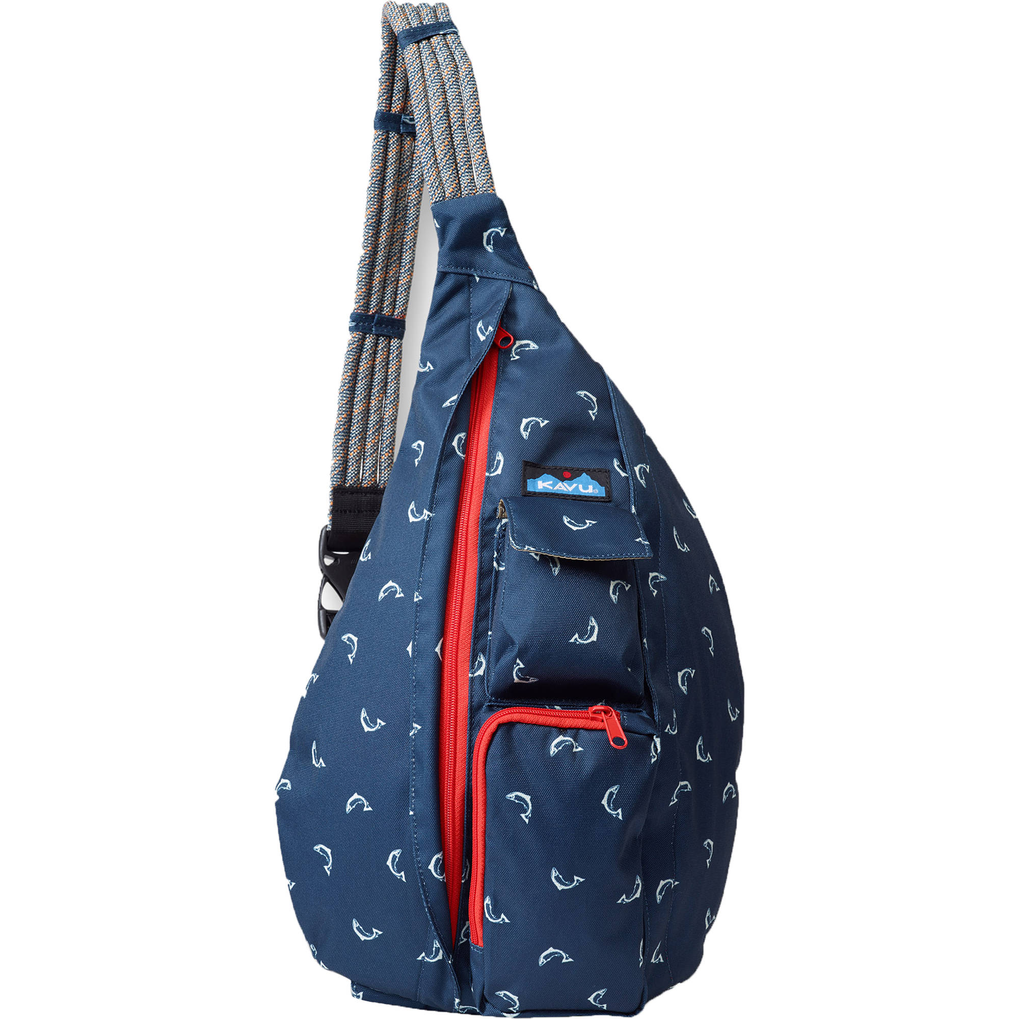 KAVU Rope Sling Bag (Fly Fish) 944-410- B&H Photo Video