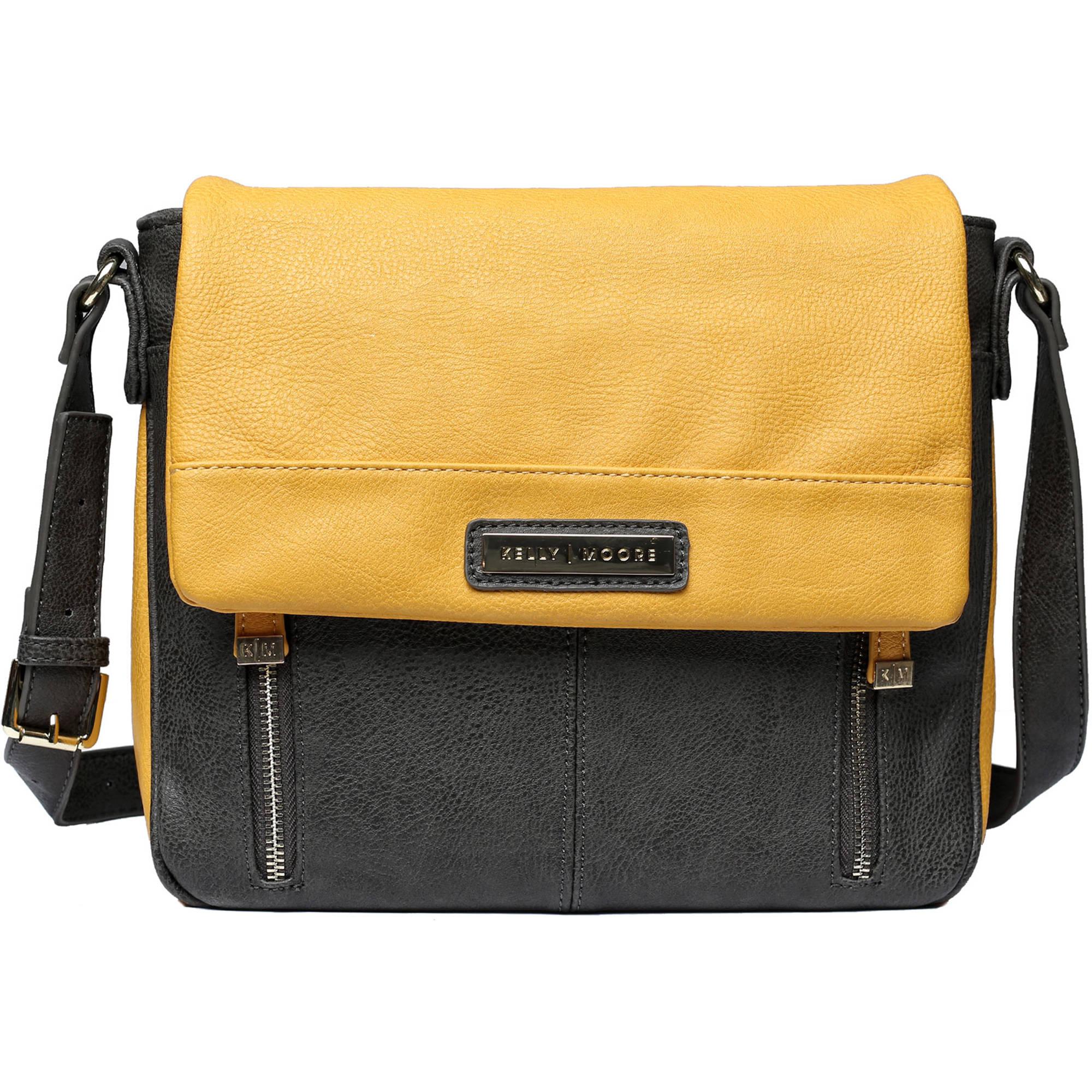 kelly moore bag luna messenger bag mustard kmb lna gry km 6000. Black Bedroom Furniture Sets. Home Design Ideas