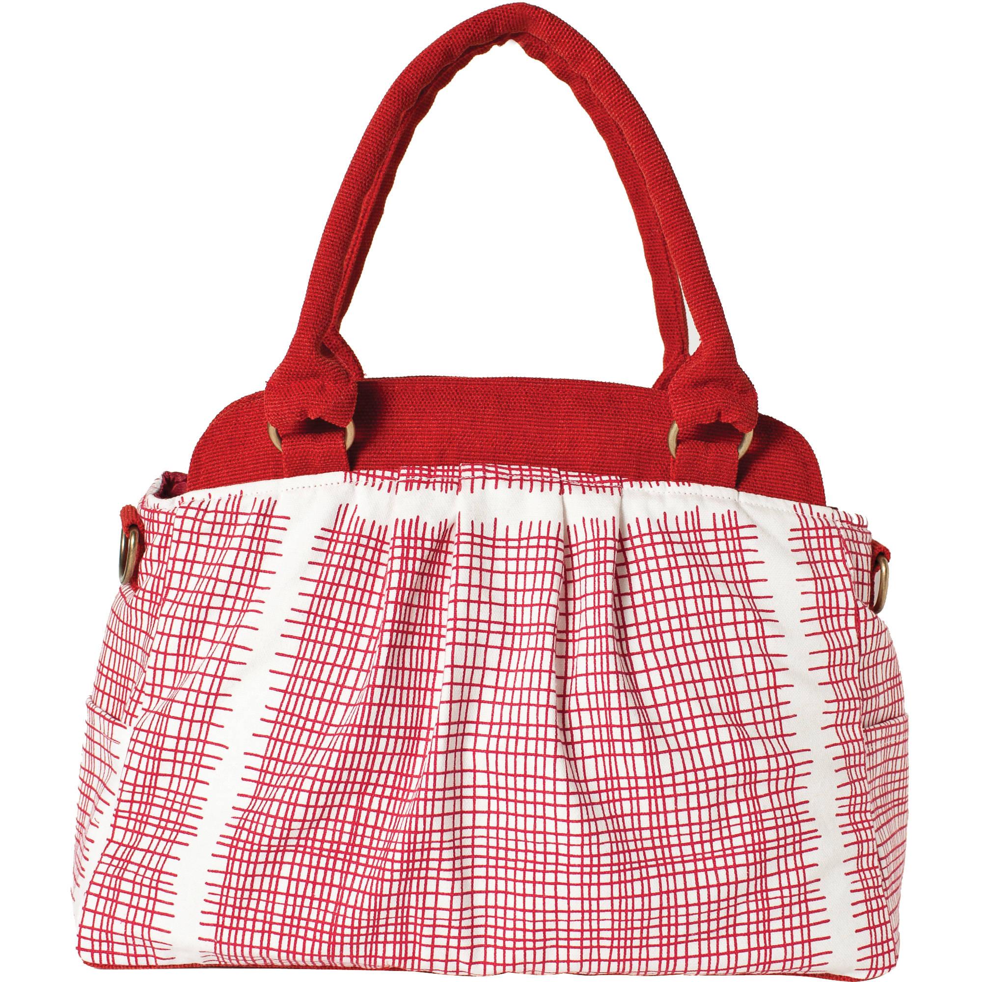 Ketti Handbags Grid Camera Bag