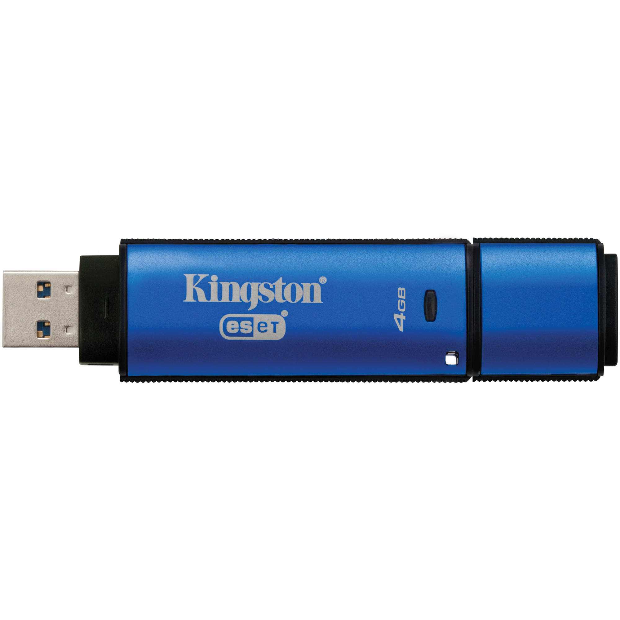 Kingston 4gb Datatraveler Vault Privacy 30 Usb Dtvp30av Bh Flasdisk Flash Drive With Anti Virus