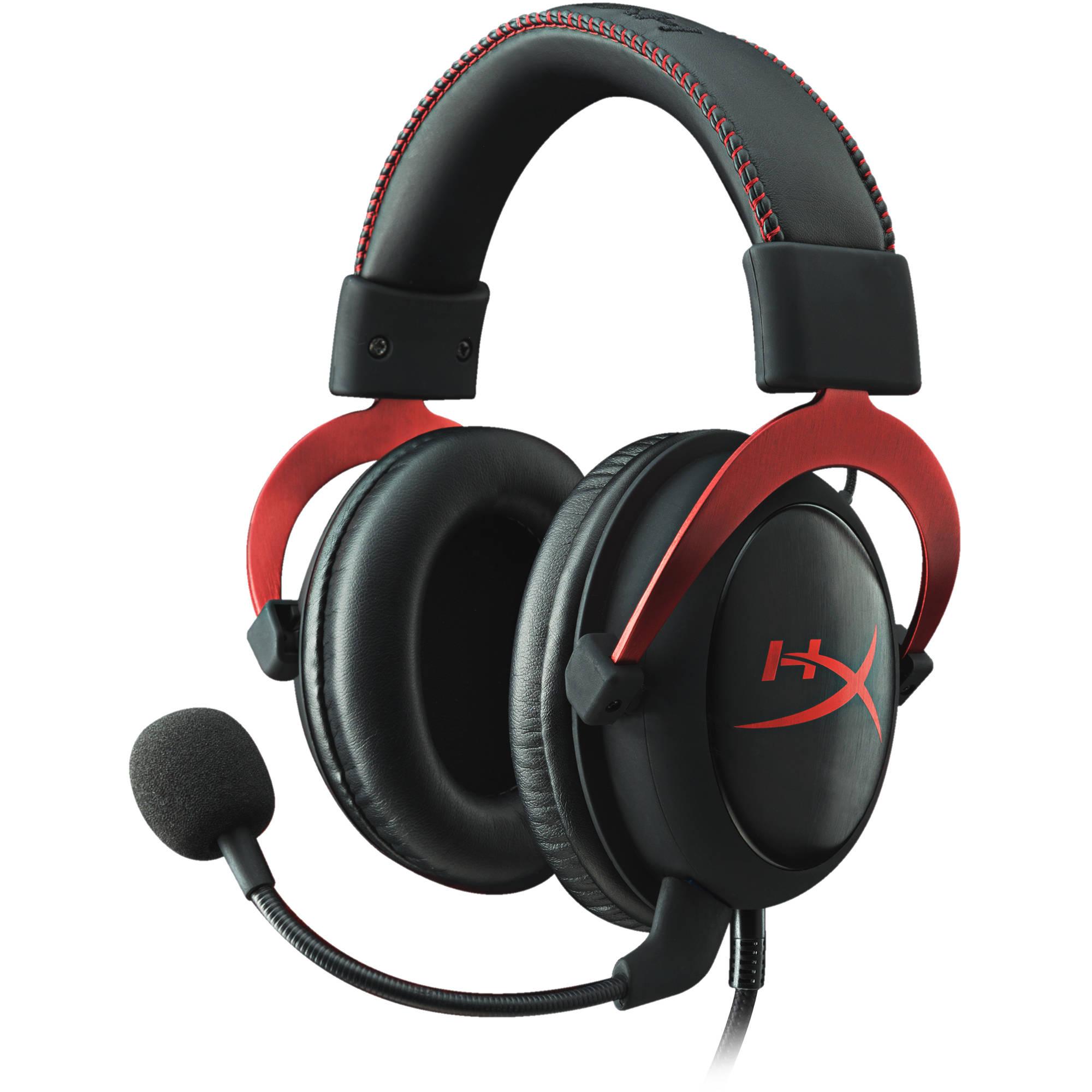 Kingston Hyperx Cloud Ii Gaming Headset Red Khx Hscp Rd B Amp H