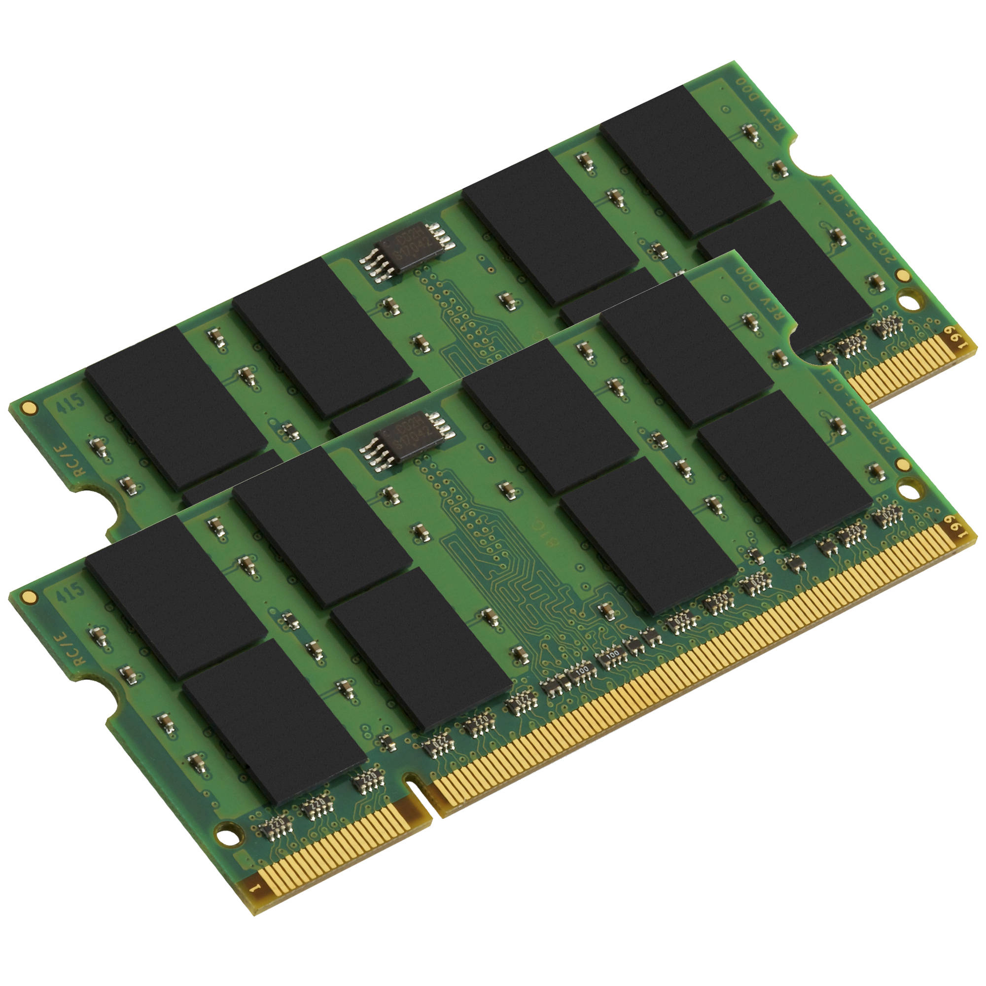 Kingston 2gb Ddr2 800 Mhz So Dimm Memory Kit Kta Mb800k2 2g Bh Memori Pc 6400 2 X 1gb Mac