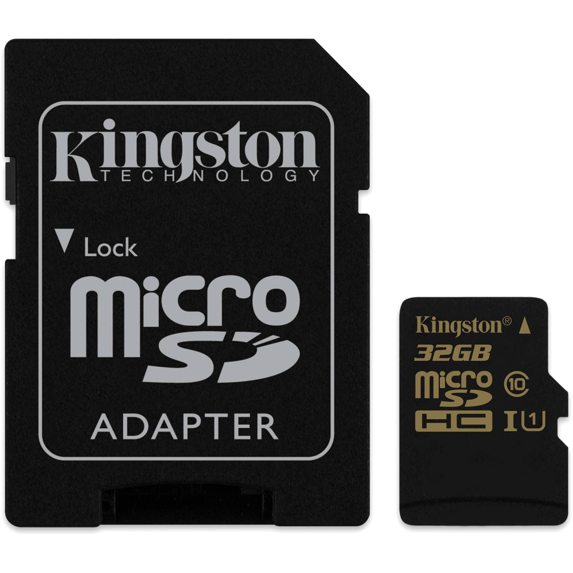kingston 32gb sdca10 uhs i microsdhc memory card sdca10 32gb b h. Black Bedroom Furniture Sets. Home Design Ideas