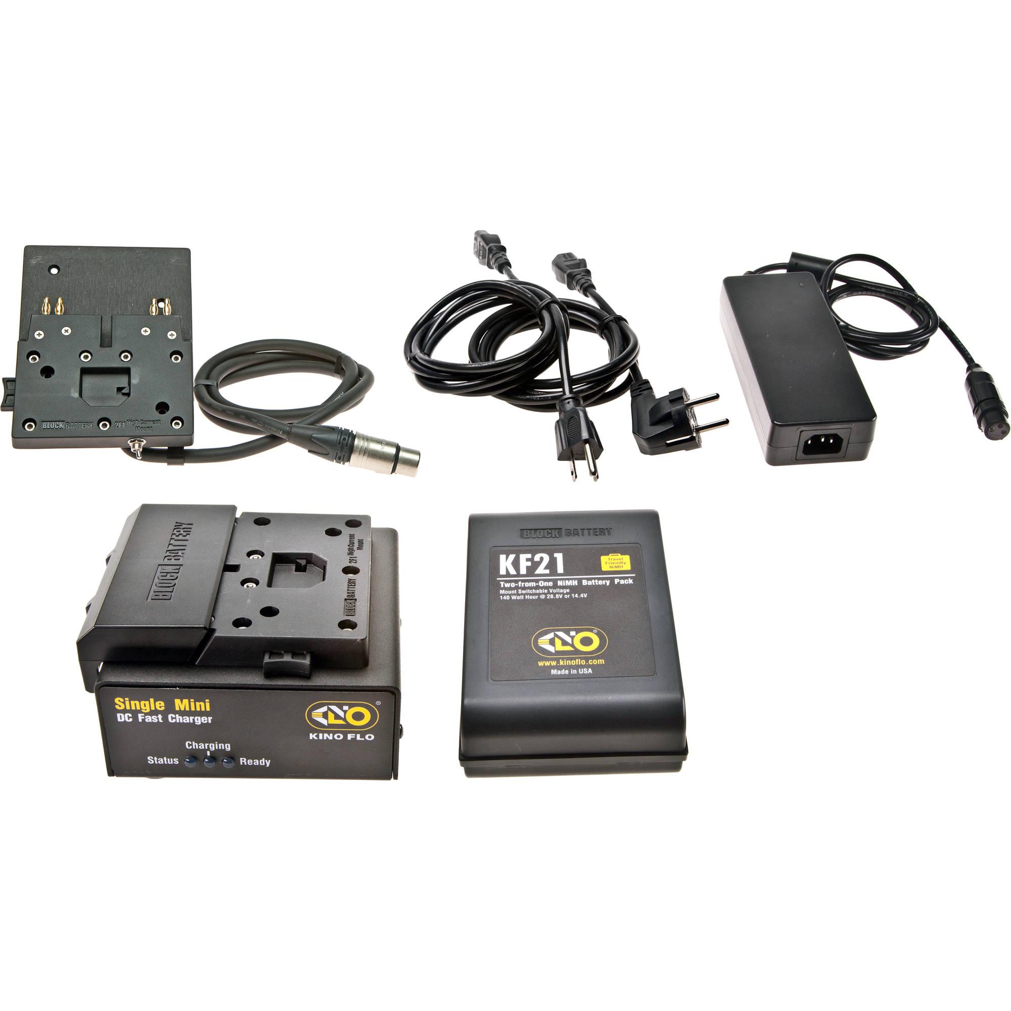 Kino Flo Block Kf21 Single Battery System With 1 Nimh Sys Bk11 The Following Illustration A Singlebattery Threeresistor Circuit