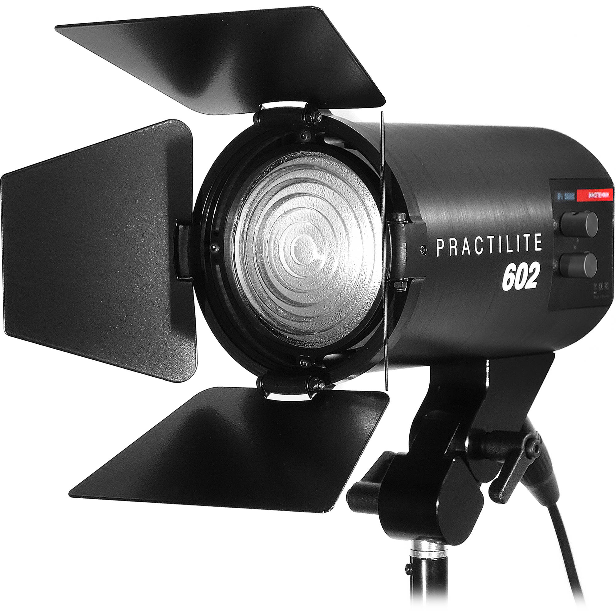 kinotehnik practilite 602 led fresnel pract602 b h photo video. Black Bedroom Furniture Sets. Home Design Ideas