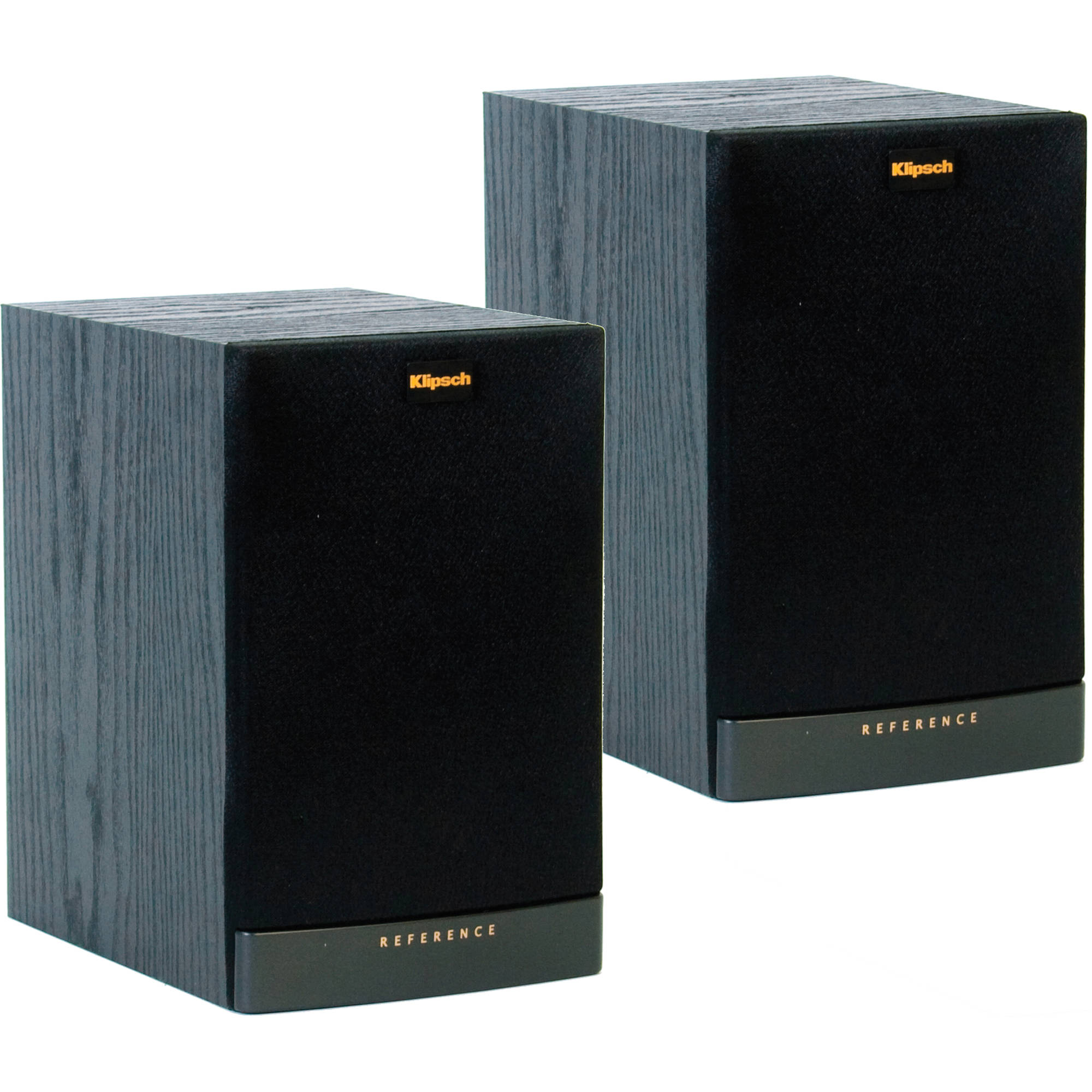 klipsch rb 41 ii bookshelf speakers pair black 1011855 b h. Black Bedroom Furniture Sets. Home Design Ideas