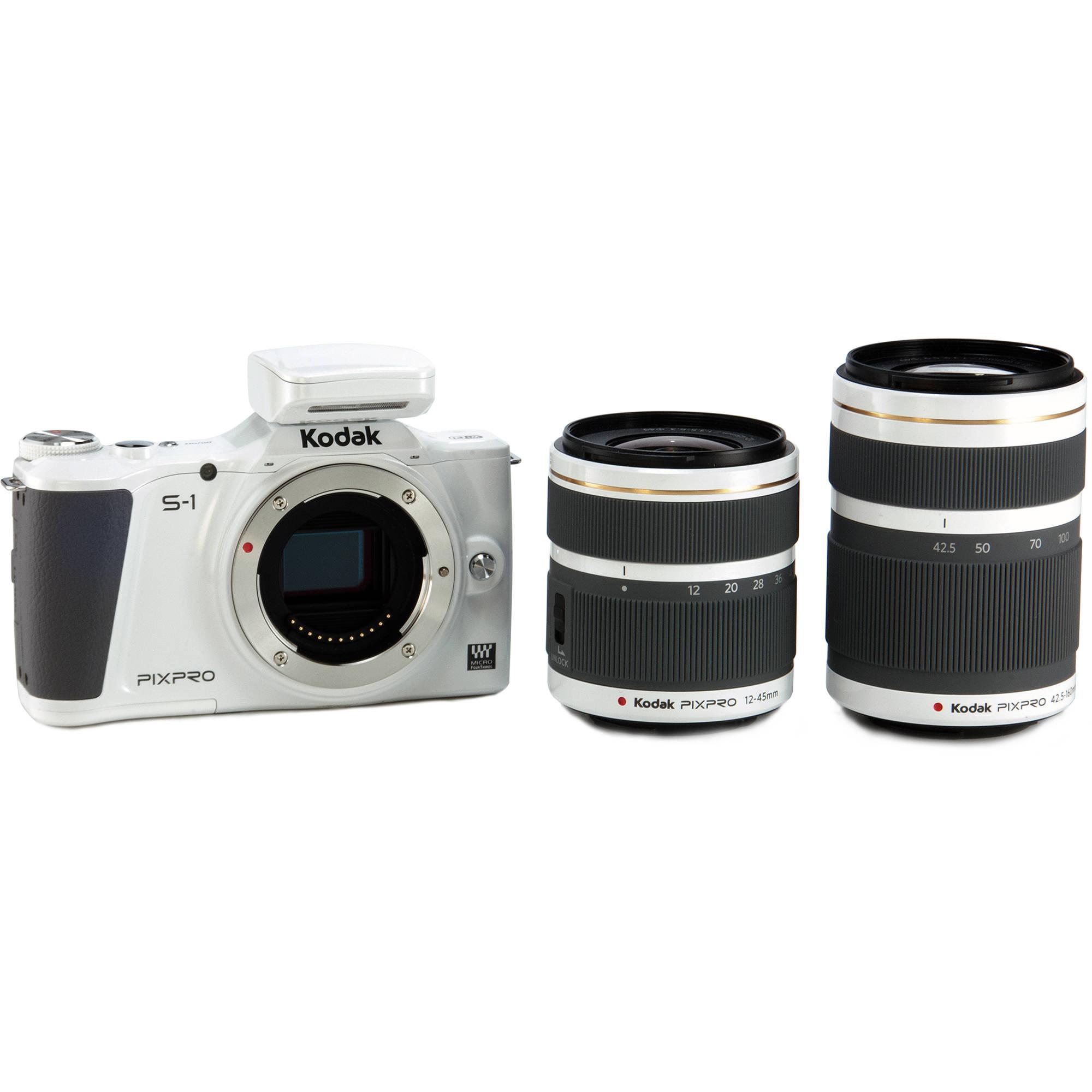 Kodak PIXPRO S-1 Mirrorless Digital Camera with 12-45mm S1WH6