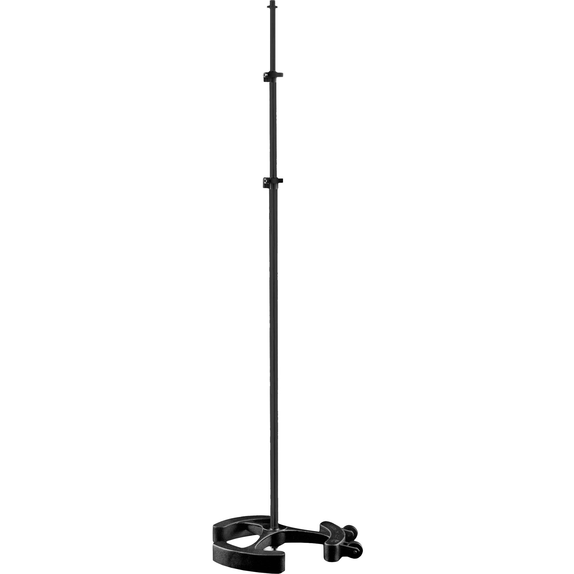 latch lake micking 3300 straight microphone stand mk3300stbk b h. Black Bedroom Furniture Sets. Home Design Ideas