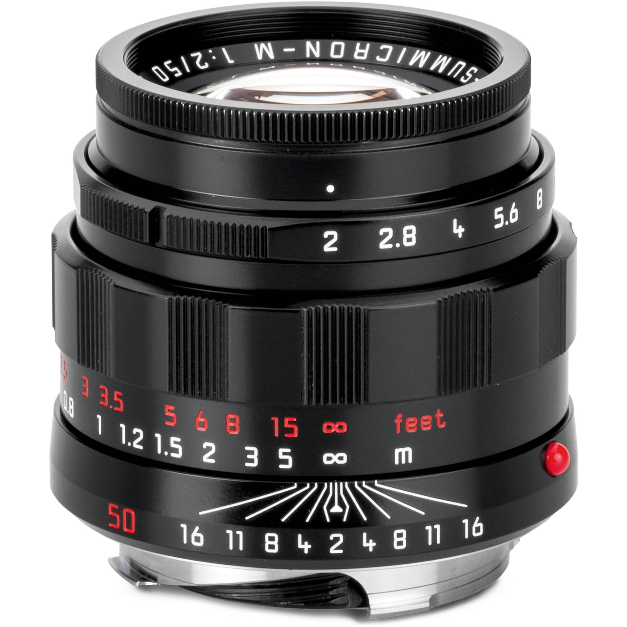 Leica Apo Summicron M 50mm F 2 Asph Lens Lhsa Edition Black Paint