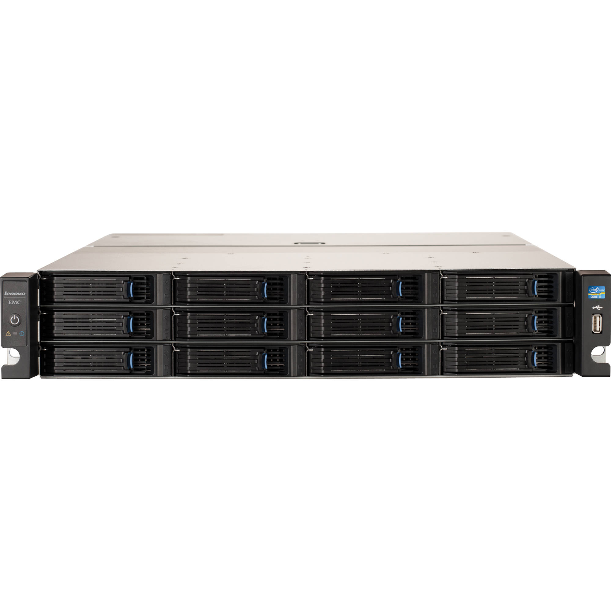 Lenovoemc px12 450r 12 bay network storage array 8tb for Storage bay