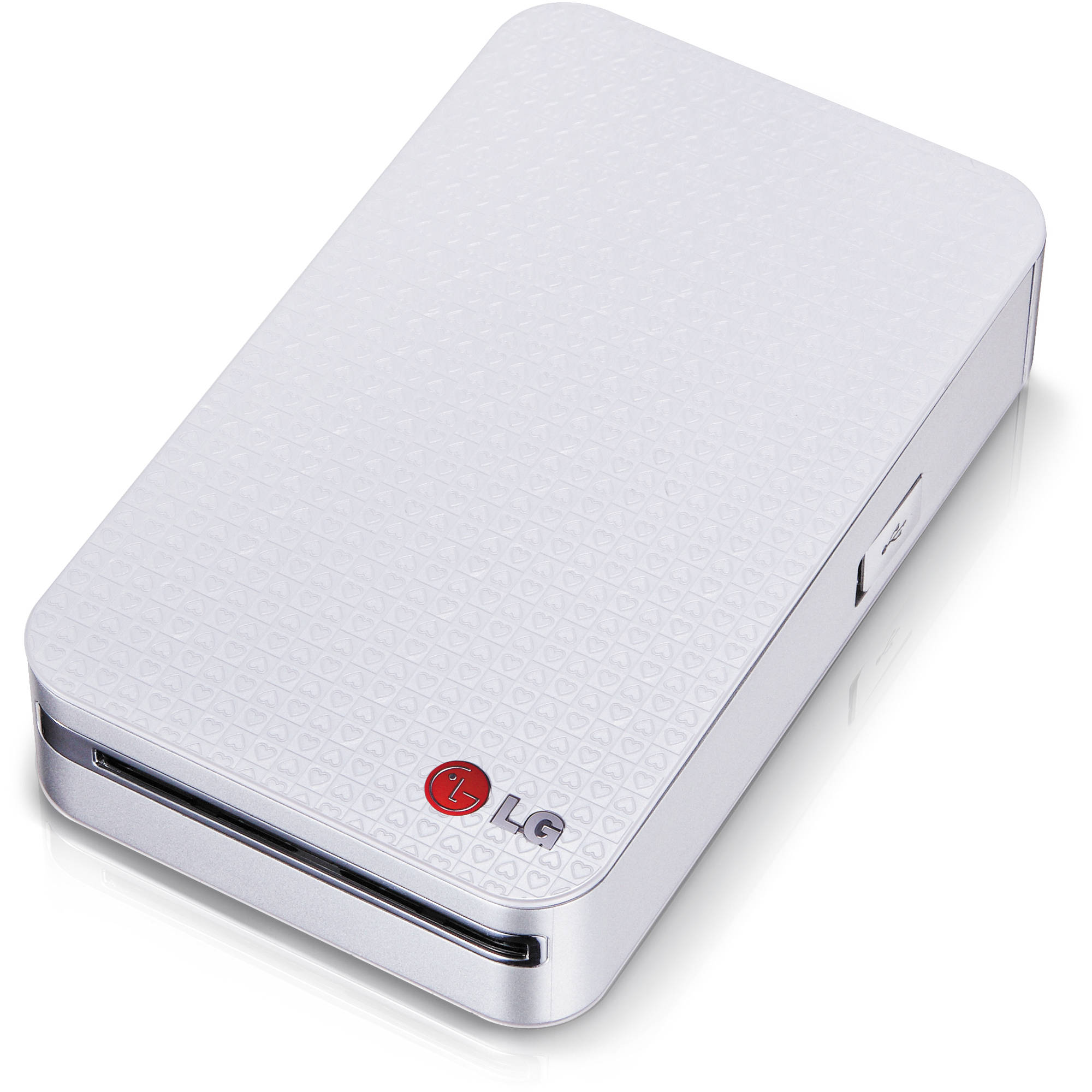 Lg Pocket Photo Printer Silver Pd233 Bh Photo Video