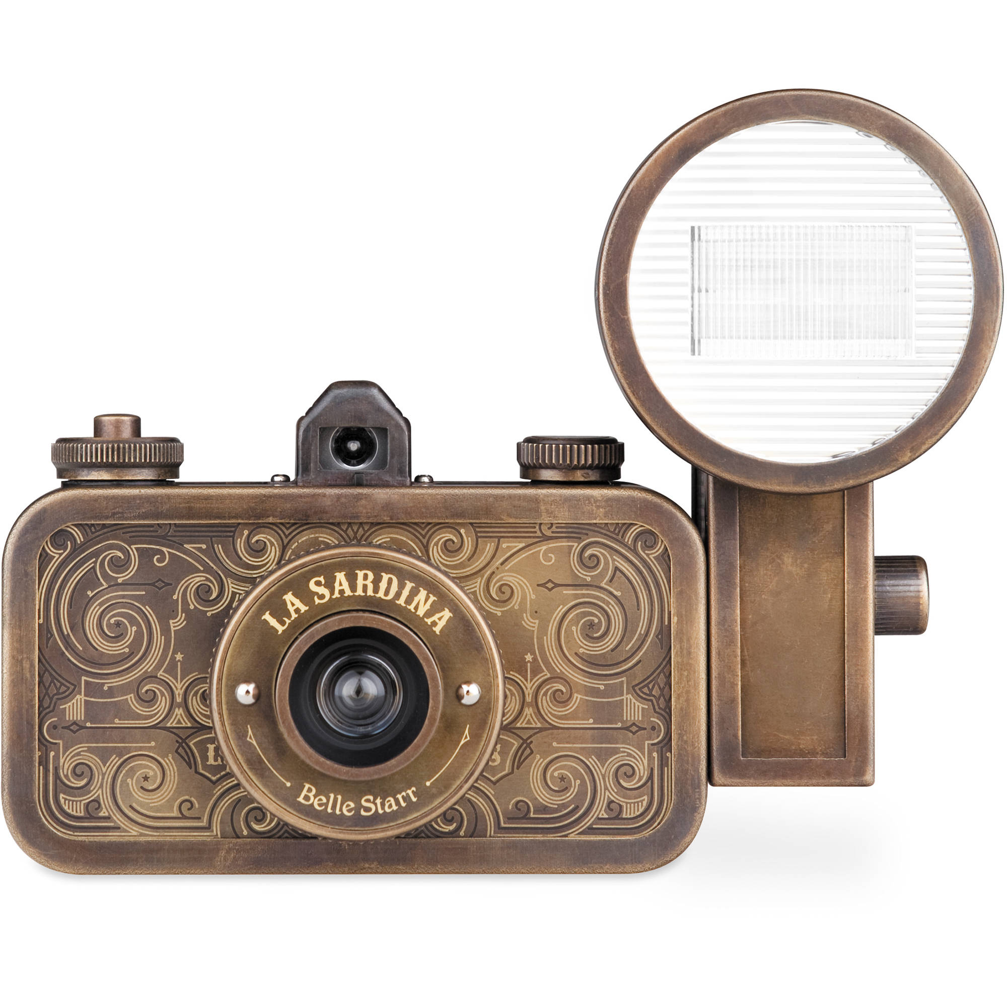 Lomography La Sardina Belle Starr Camera with Flash ...
