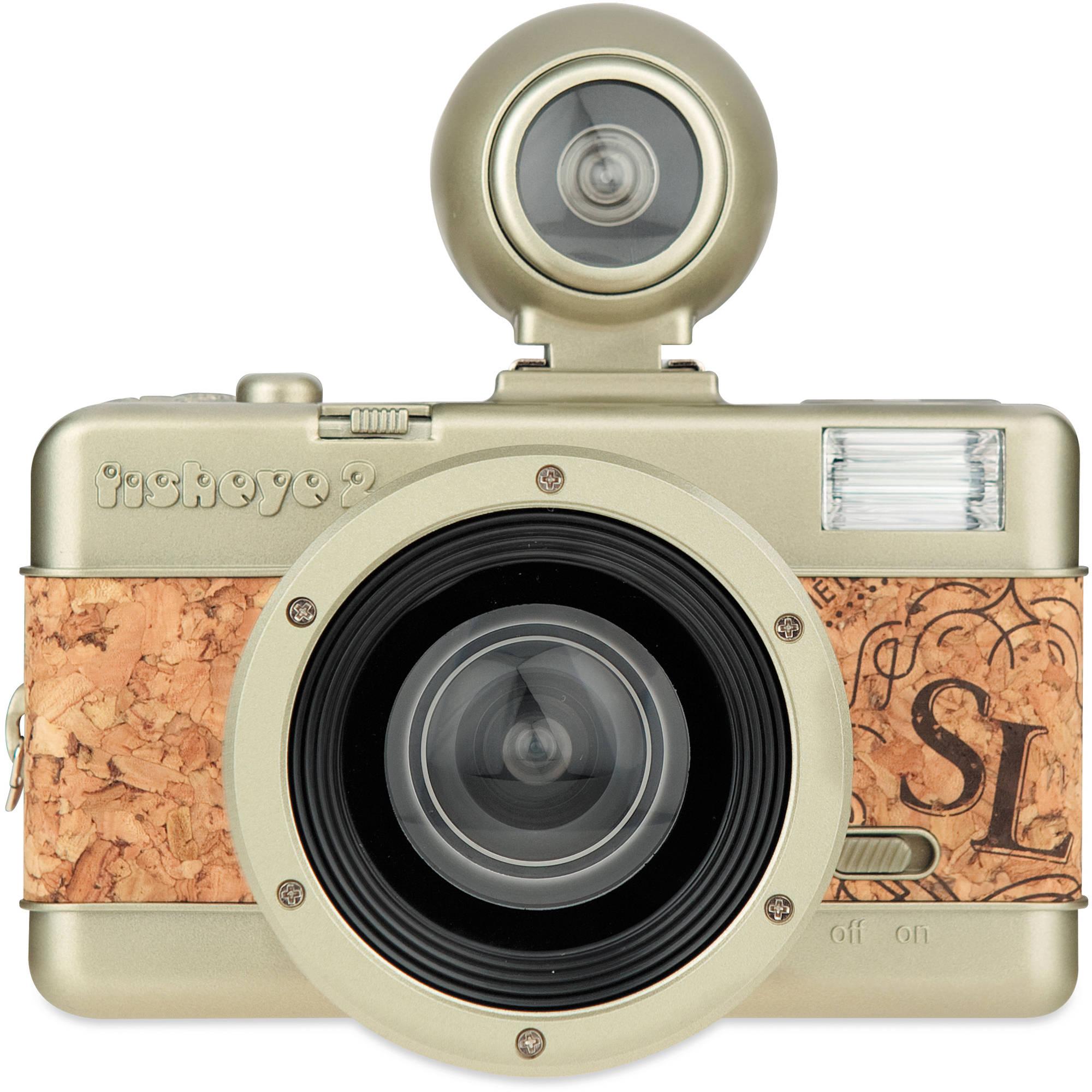 Lomography Lomography Fisheye No.2 35mm Camera (Brut) FCP200CP