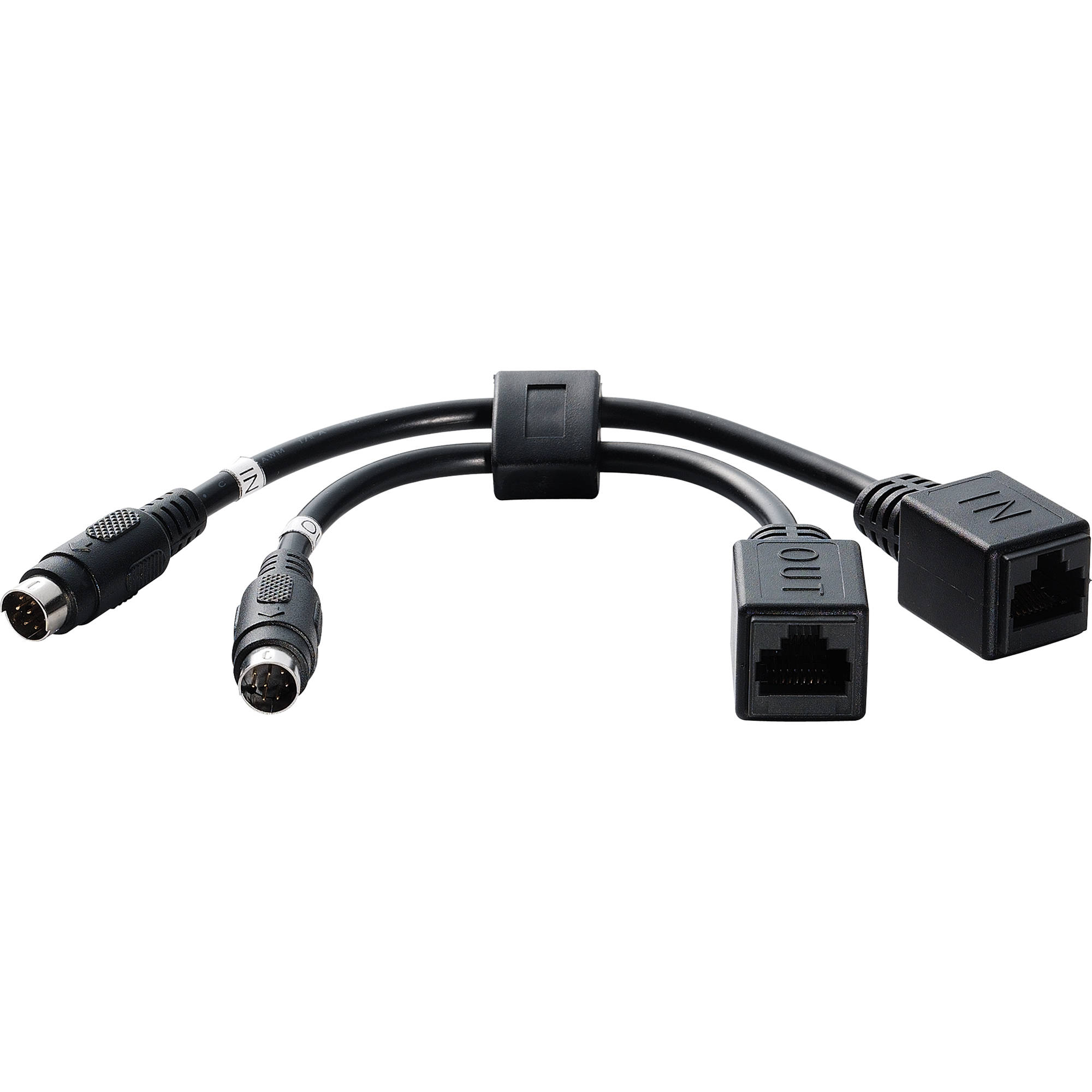 Lumens Dual In  Out Rj45 To 8