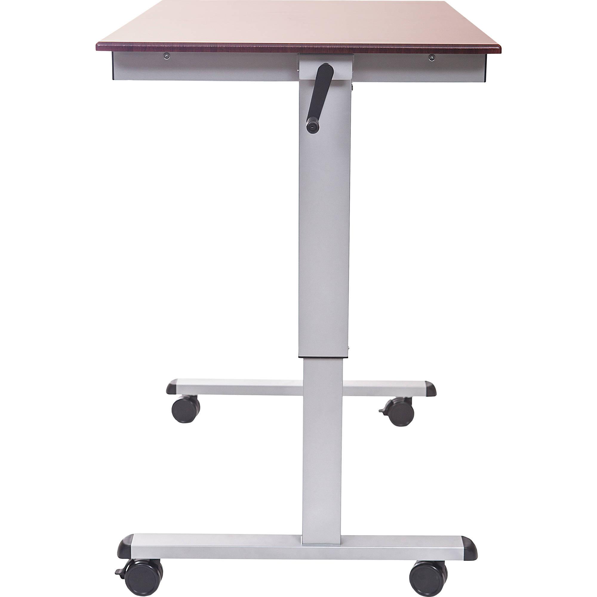 Luxor Crank Adjustable Stand Up Desk Standup Cf48 Dw B Amp H Photo