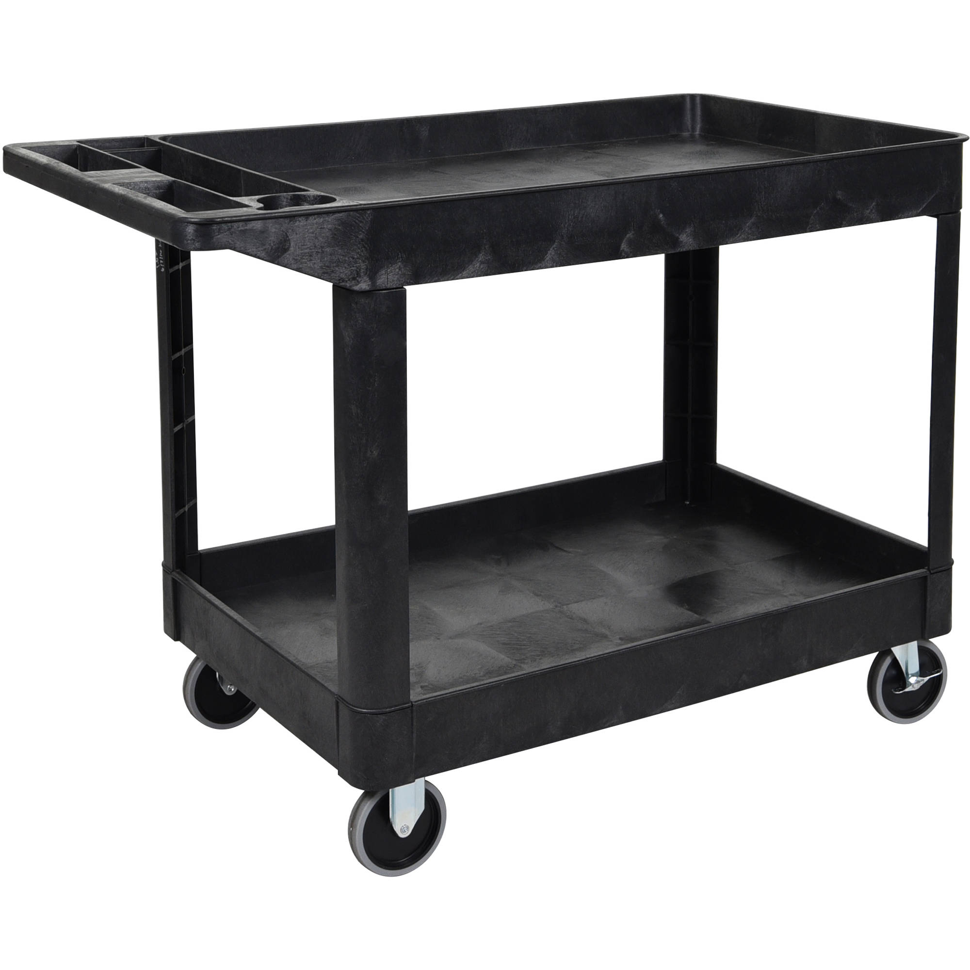 Luxor Two-Shelf Heavy Duty Utility Cart XLC11-B B&H Photo Video