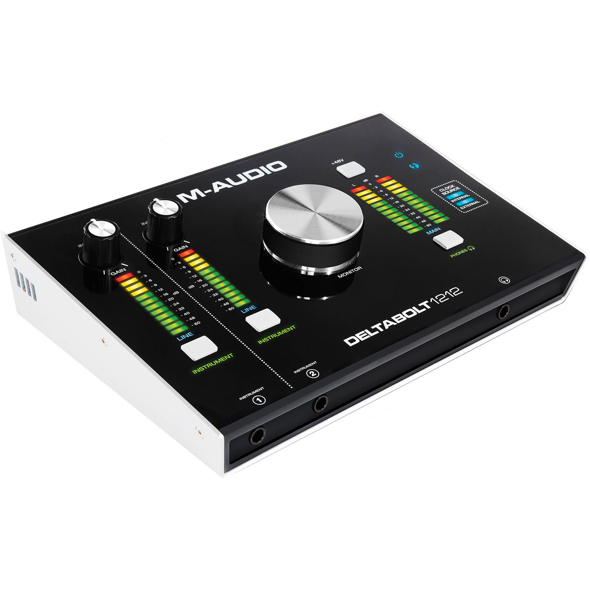 M Audio Interface : m audio deltabolt 1212 12 channel thunderbolt deltabolt 1212 ~ Hamham.info Haus und Dekorationen