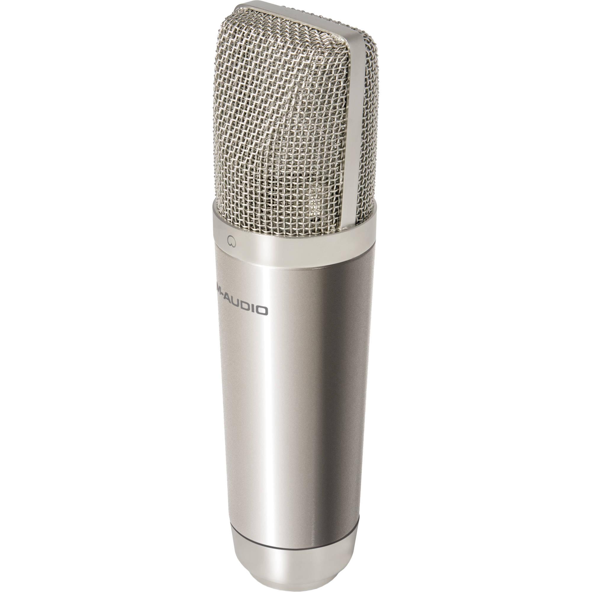 m audio nova large capsule condenser microphone nova b h photo