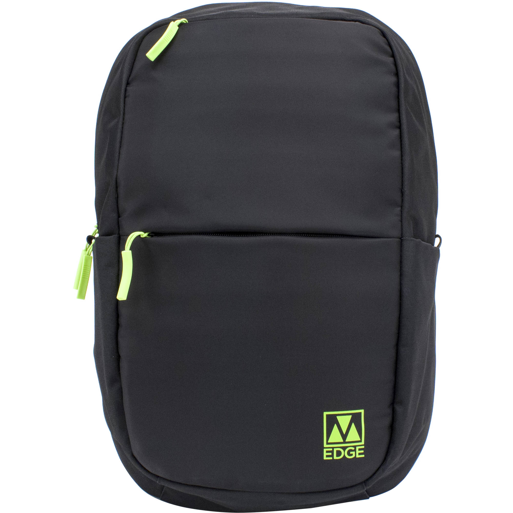 M Edge Tech 15 Laptop Backpack With Built In Battery Black