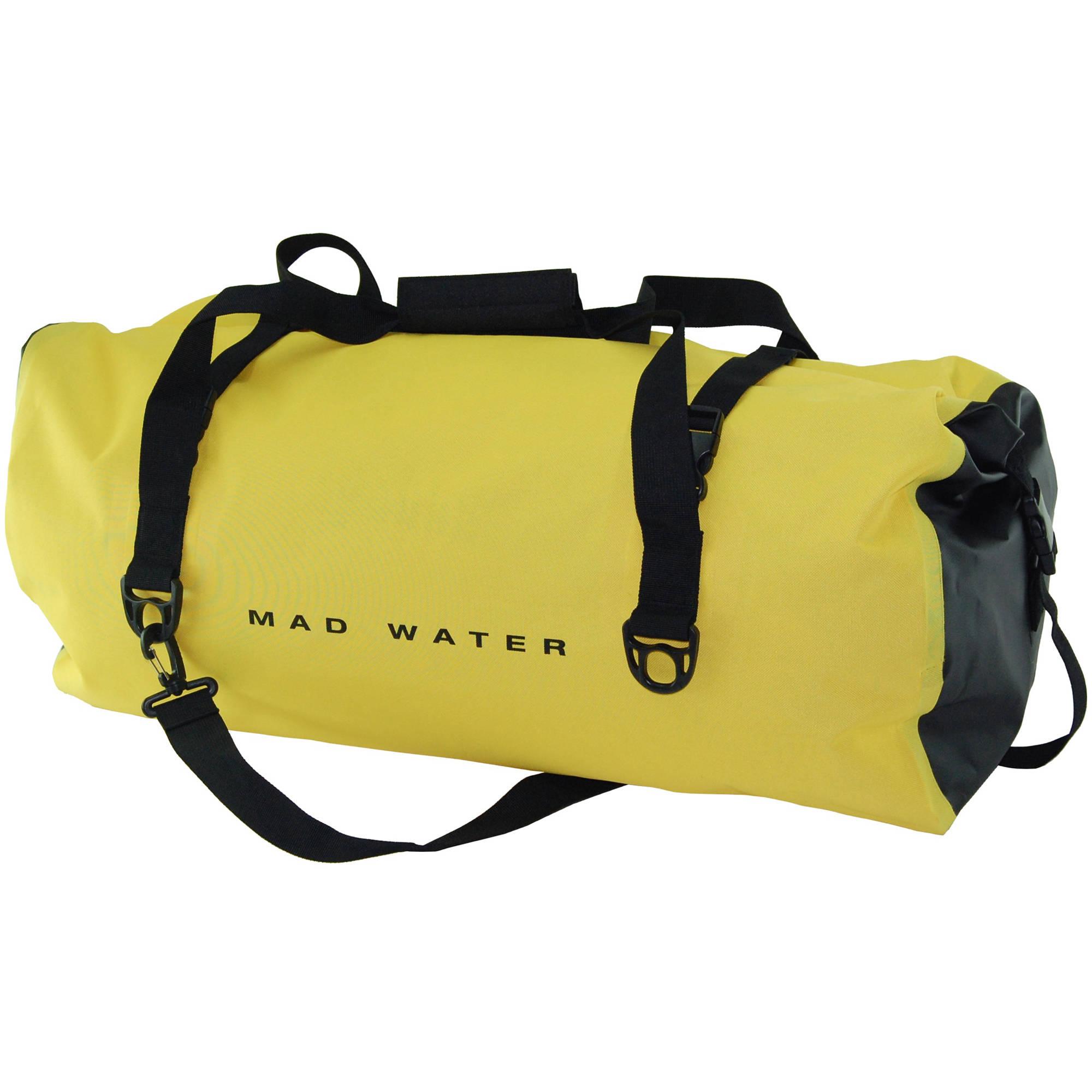 Mad Water Classic Roll Top Waterproof Duffel Bag 60l Yellow